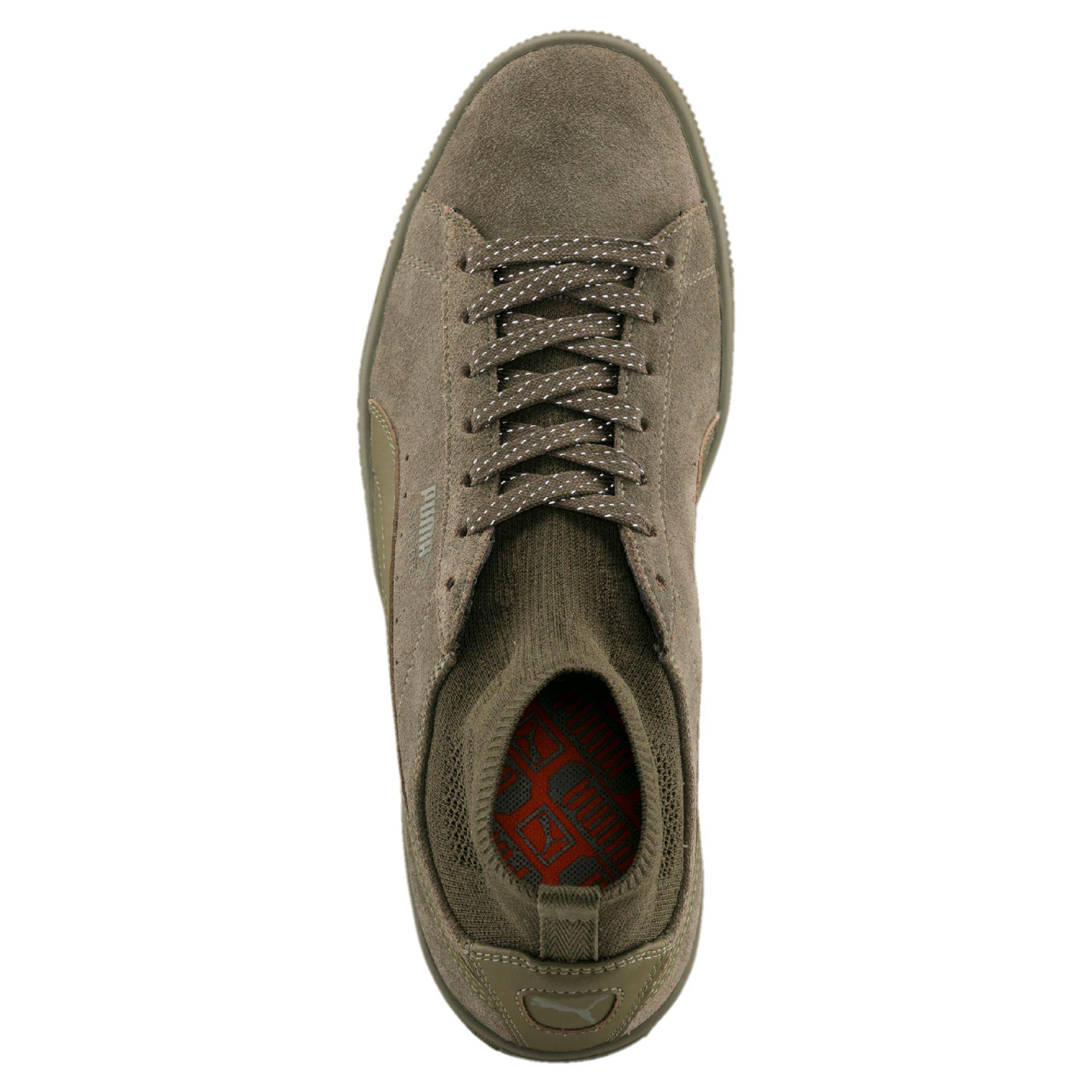 Lyst - PUMA Suede Classic Sock Sneakers in Green for Men c82cf1149