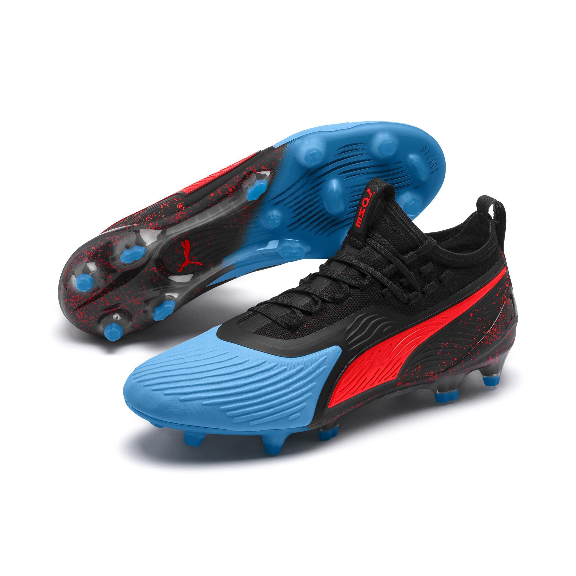 9c9ed242ef7d Lyst - PUMA One 19.1 Syn Fg ag Men s Soccer Cleats in Blue for Men