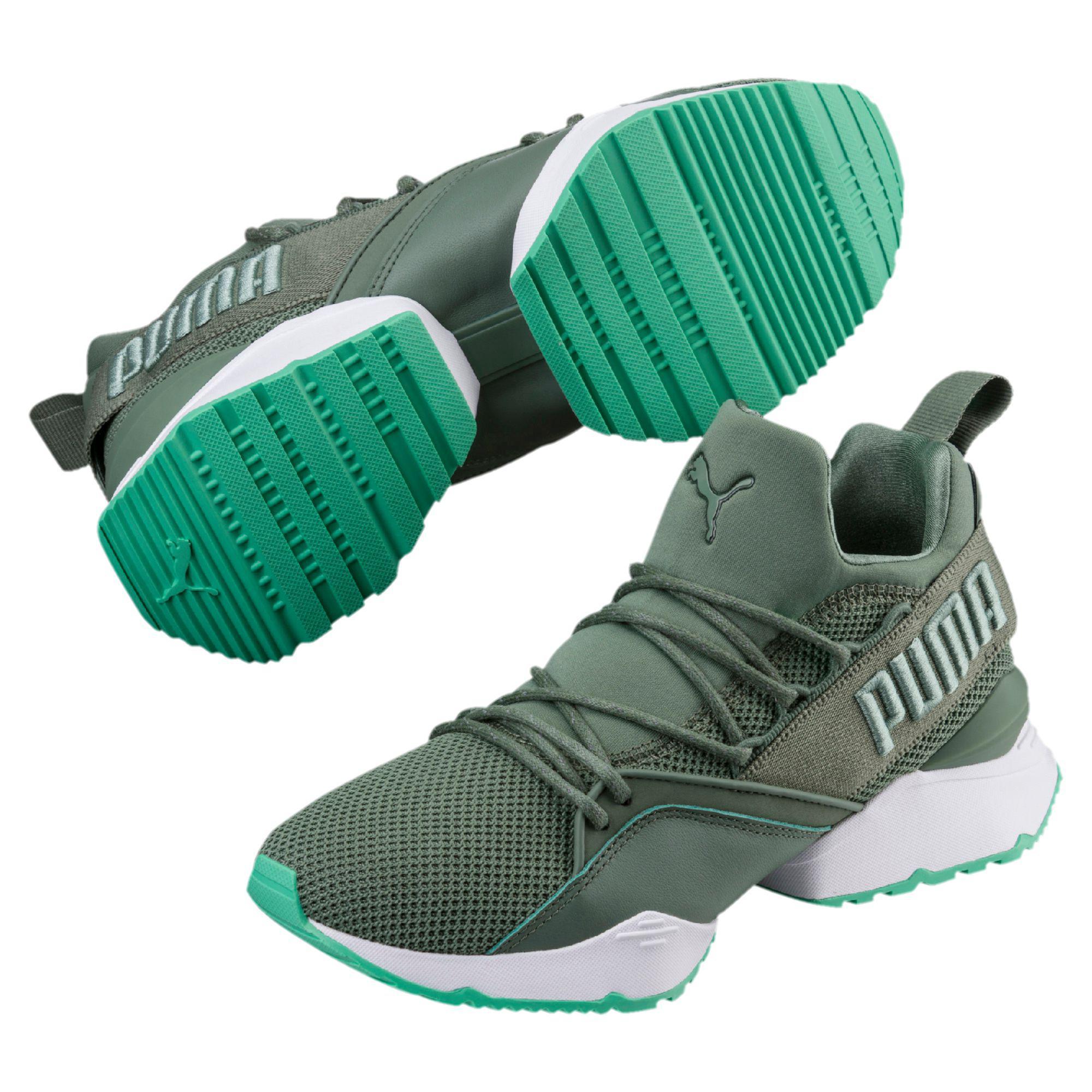 f86e3c3bd26 PUMA - Green Muse Maia Street 2 Women s Sneakers - Lyst. View fullscreen