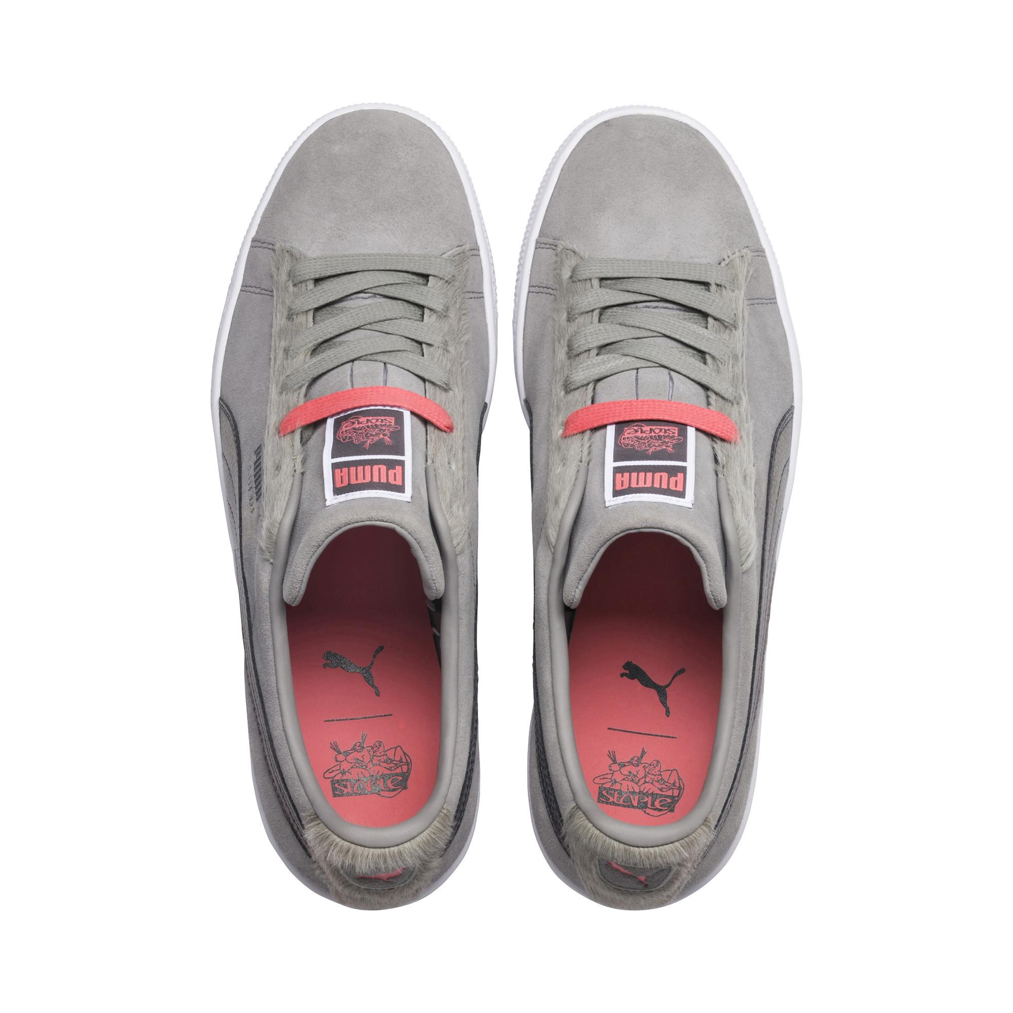 64fd44031abc Lyst - PUMA X Staple Pigeon Suede Classic Sneakers in Gray for Men