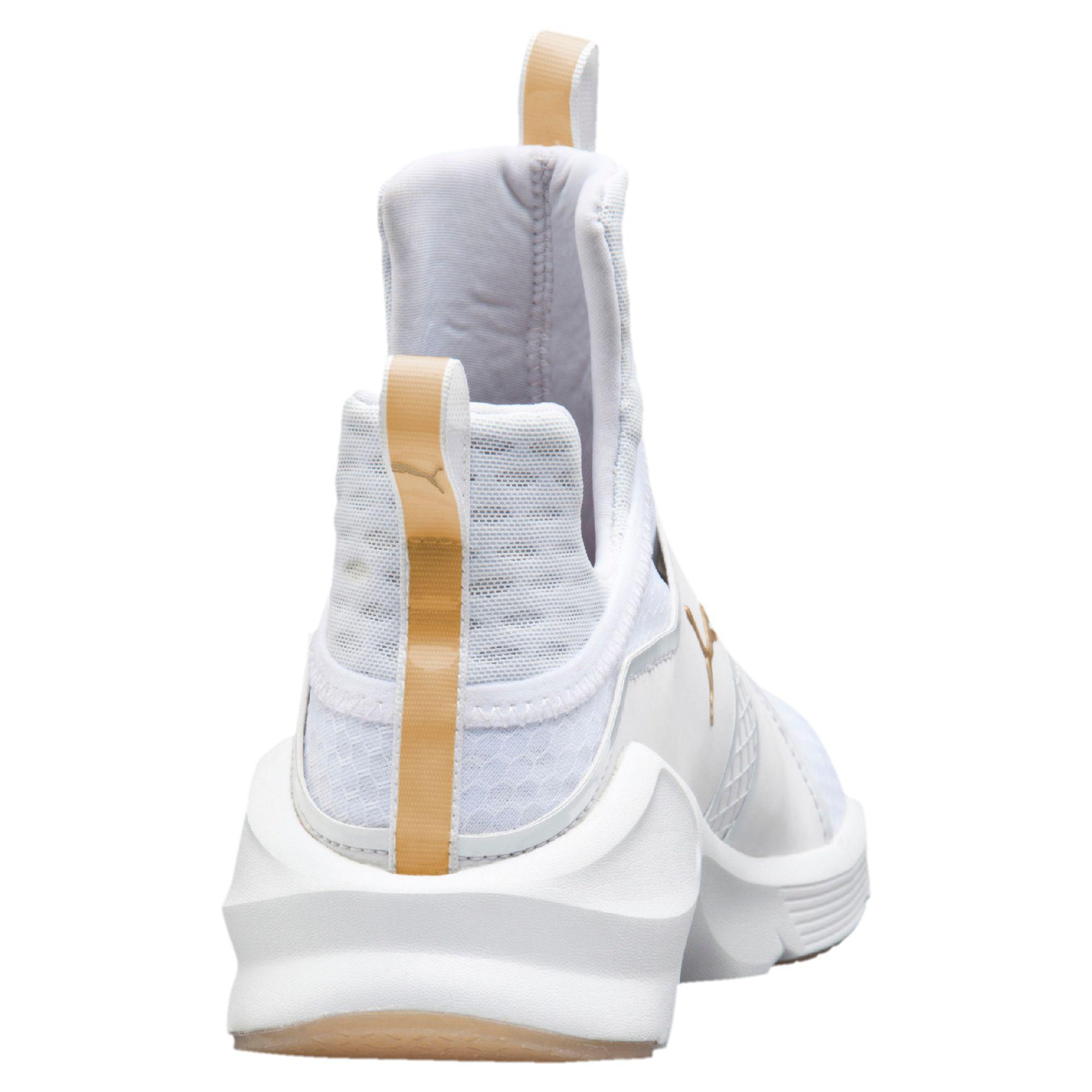 Lyst - PUMA Fierce Gold Women s Training Shoes 7aec89389