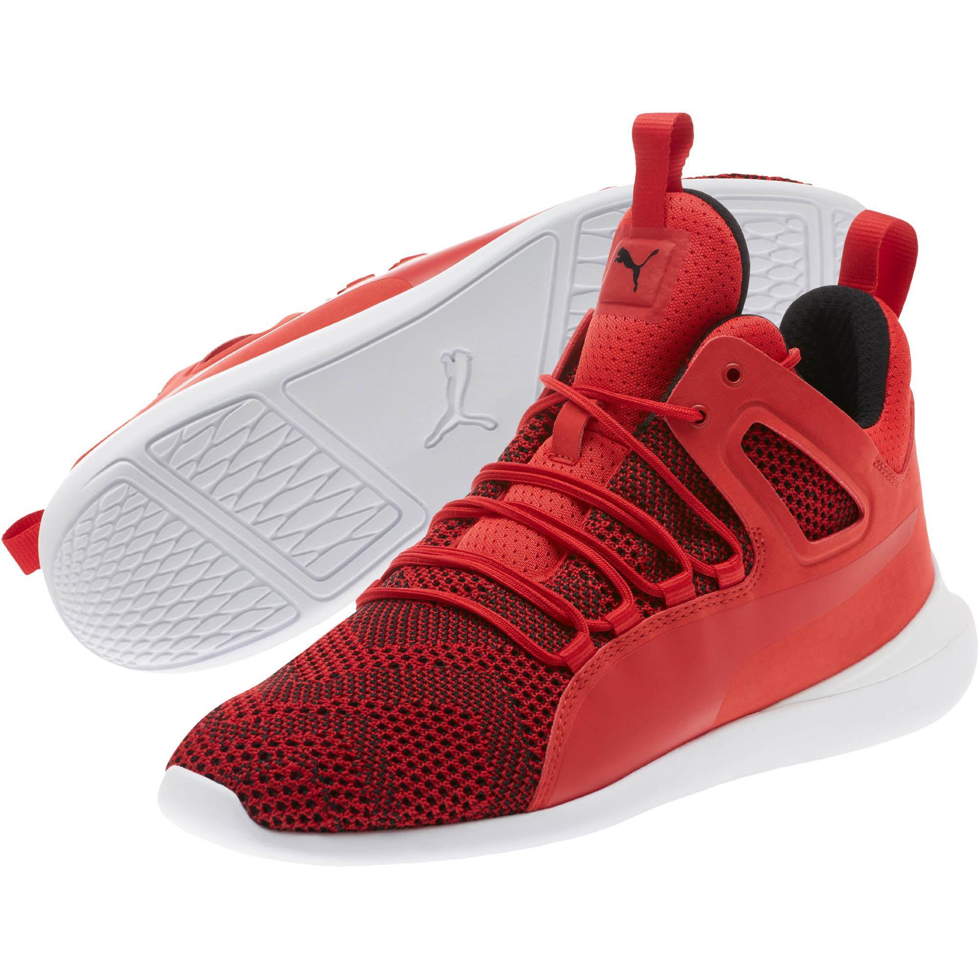 mens puma corsa in white roma belt rosso ferrari shoes scuderia gallery lyst sneakers men for red s