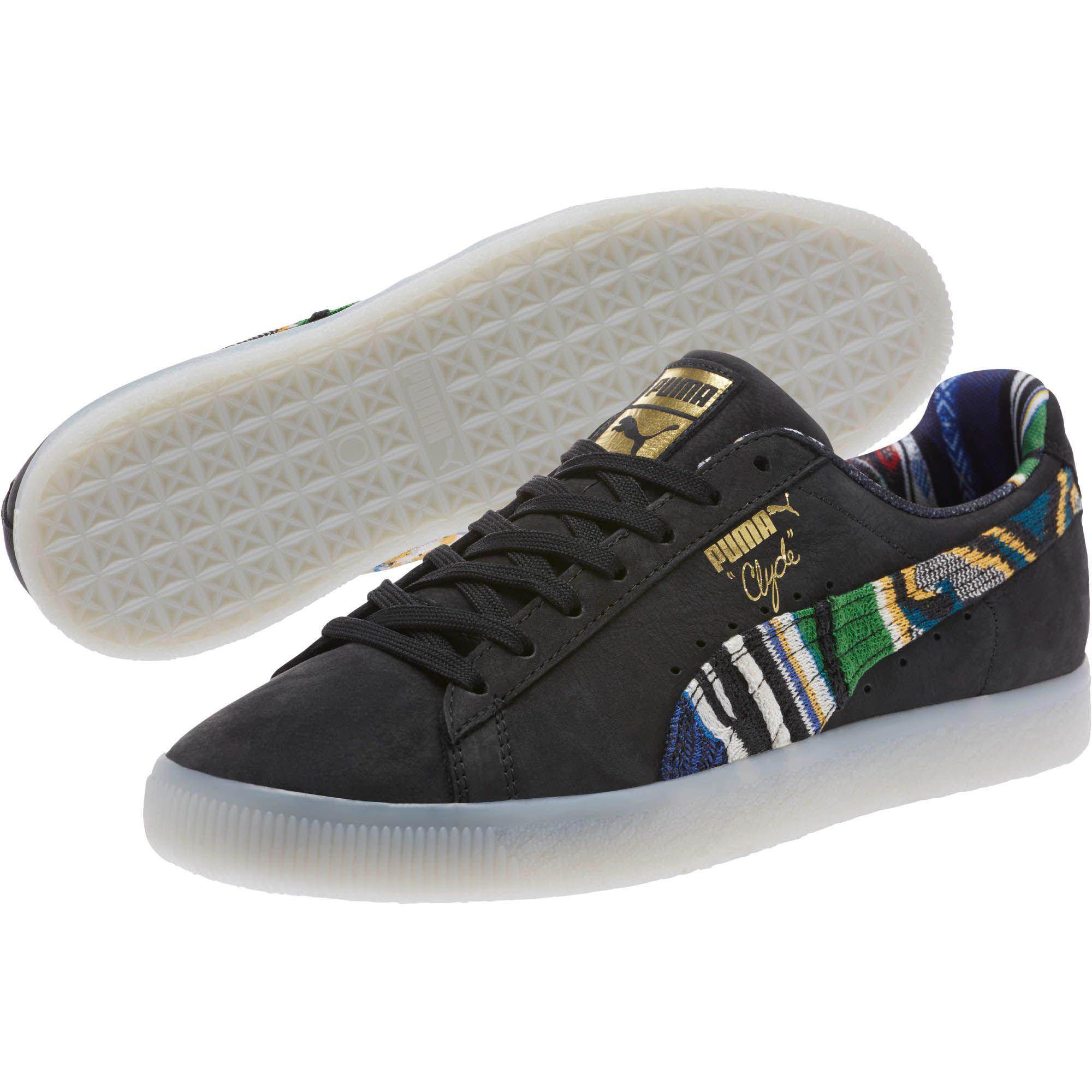 a9a6316d44b Lyst - PUMA Coogi Clyde Formstrip Sneakers in Black for Men