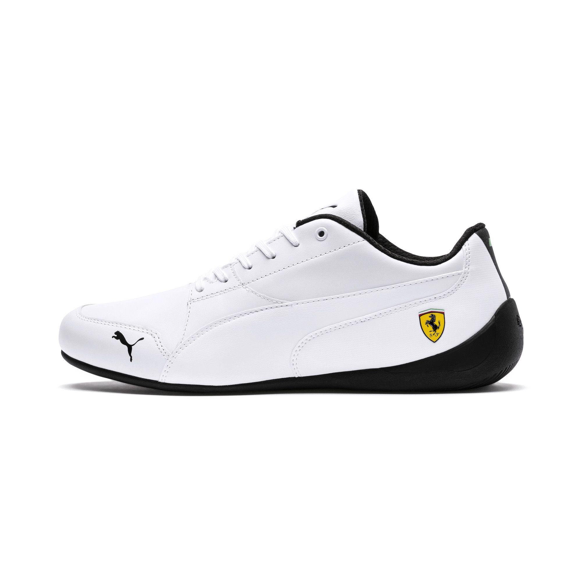 Lyst - PUMA Ferrari Drift Cat 7 Sneakers in White for Men 27b0a6ed2