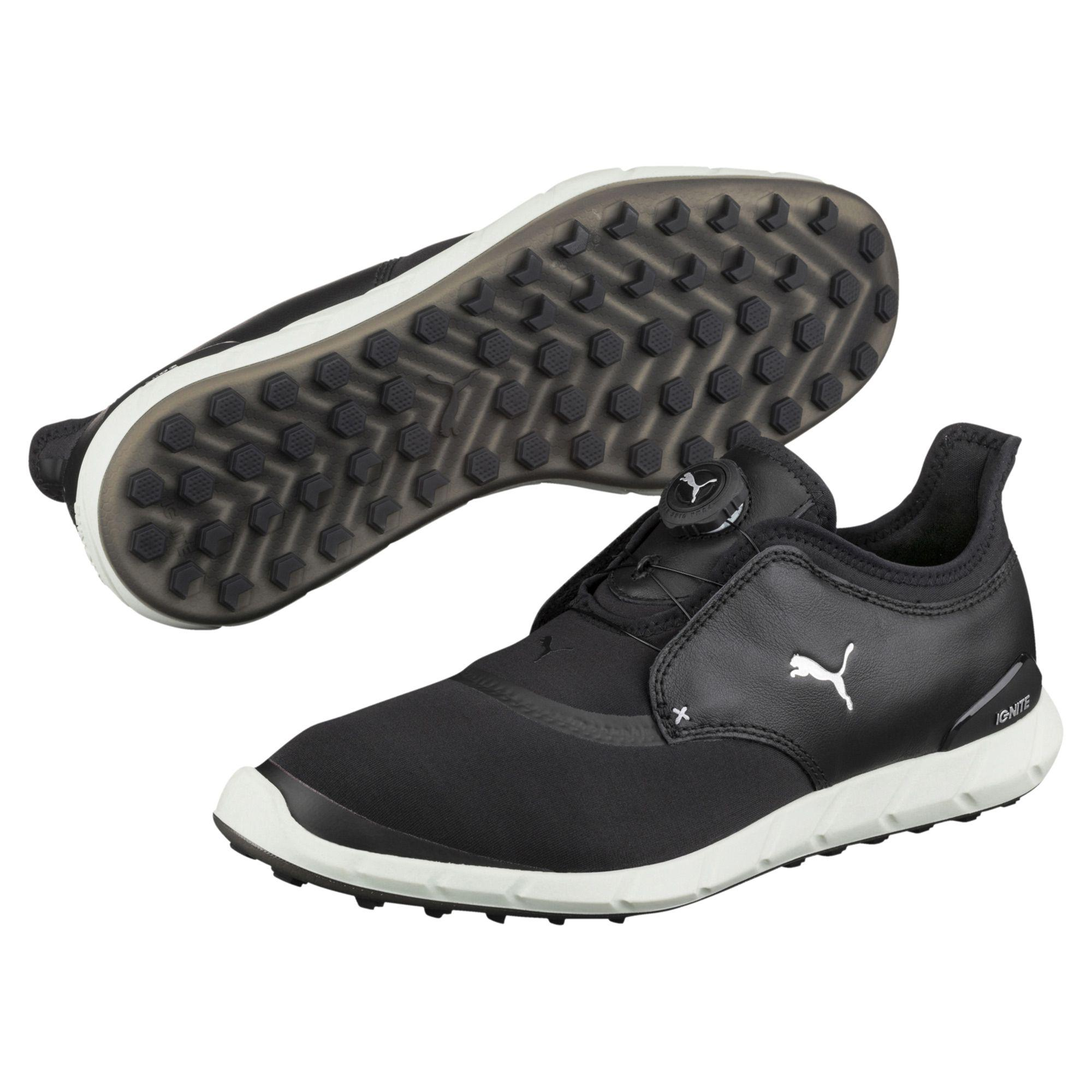 384b96a833833 PUMA Ignite Spikeless Sport Disc Men's Golf Shoes in Black for Men ...