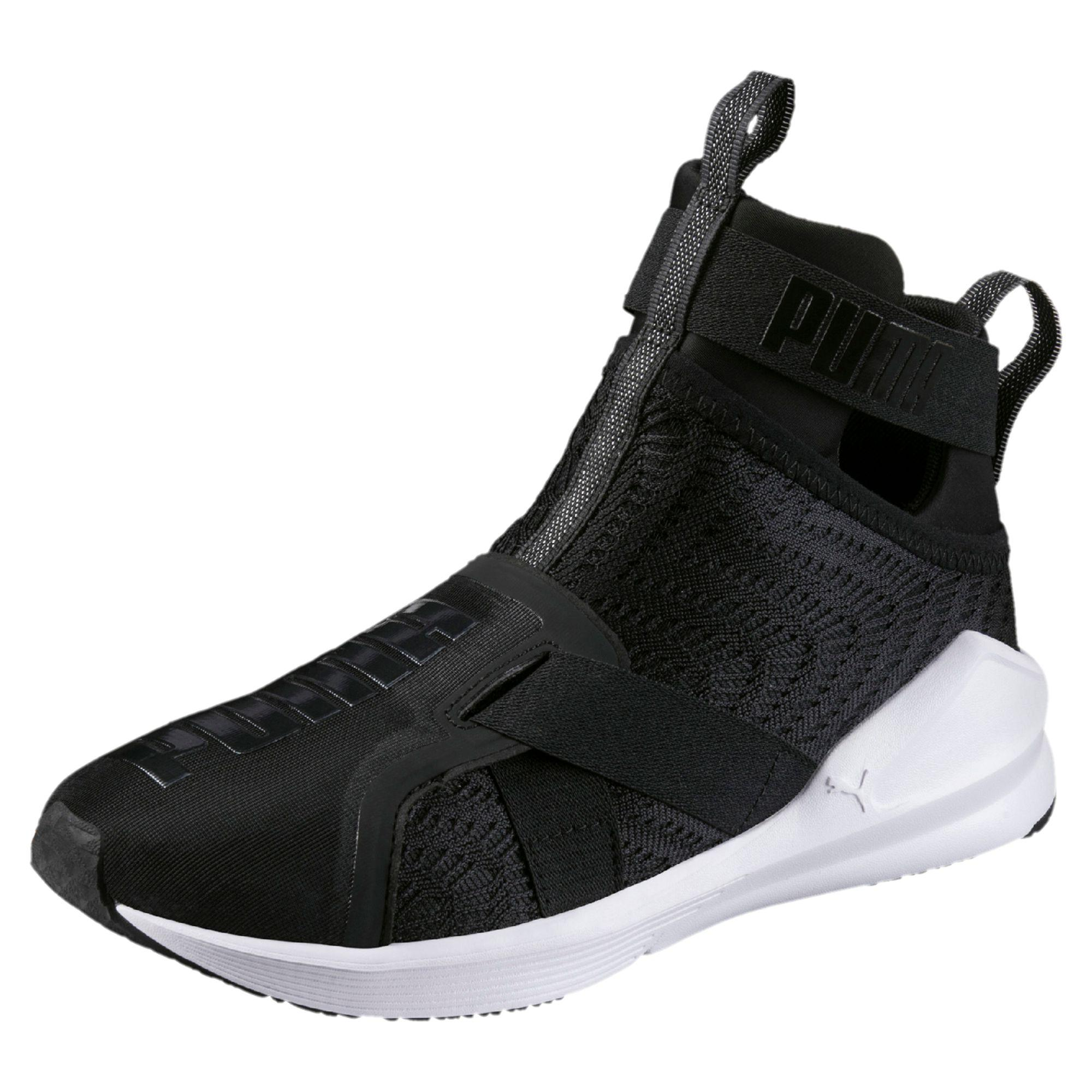 e30798e580b Lyst - PUMA Fierce Strap Swirl Women s Training Shoes in Black