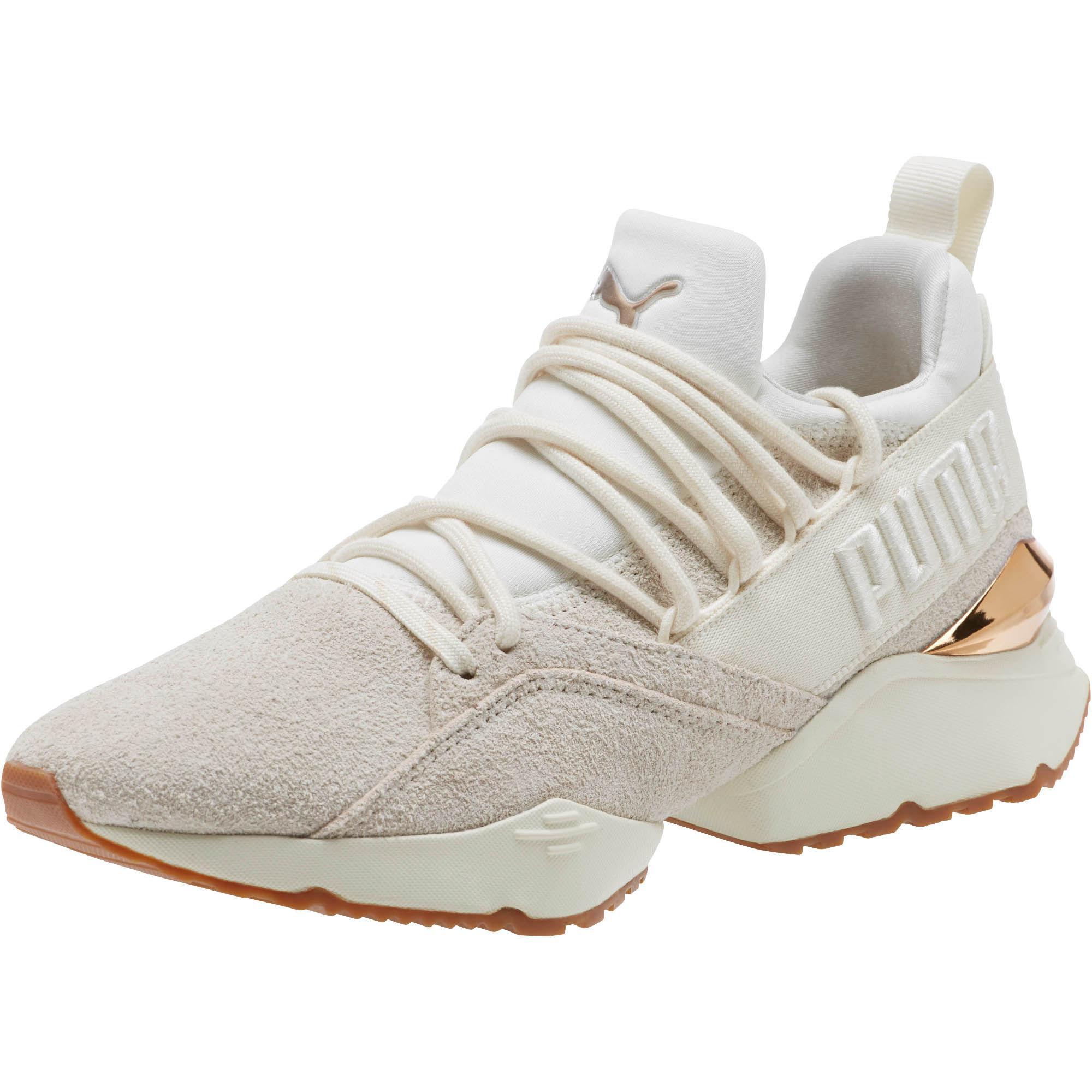 Lyst - PUMA Muse Maia Util Women s Sneakers a8ddd5103b4