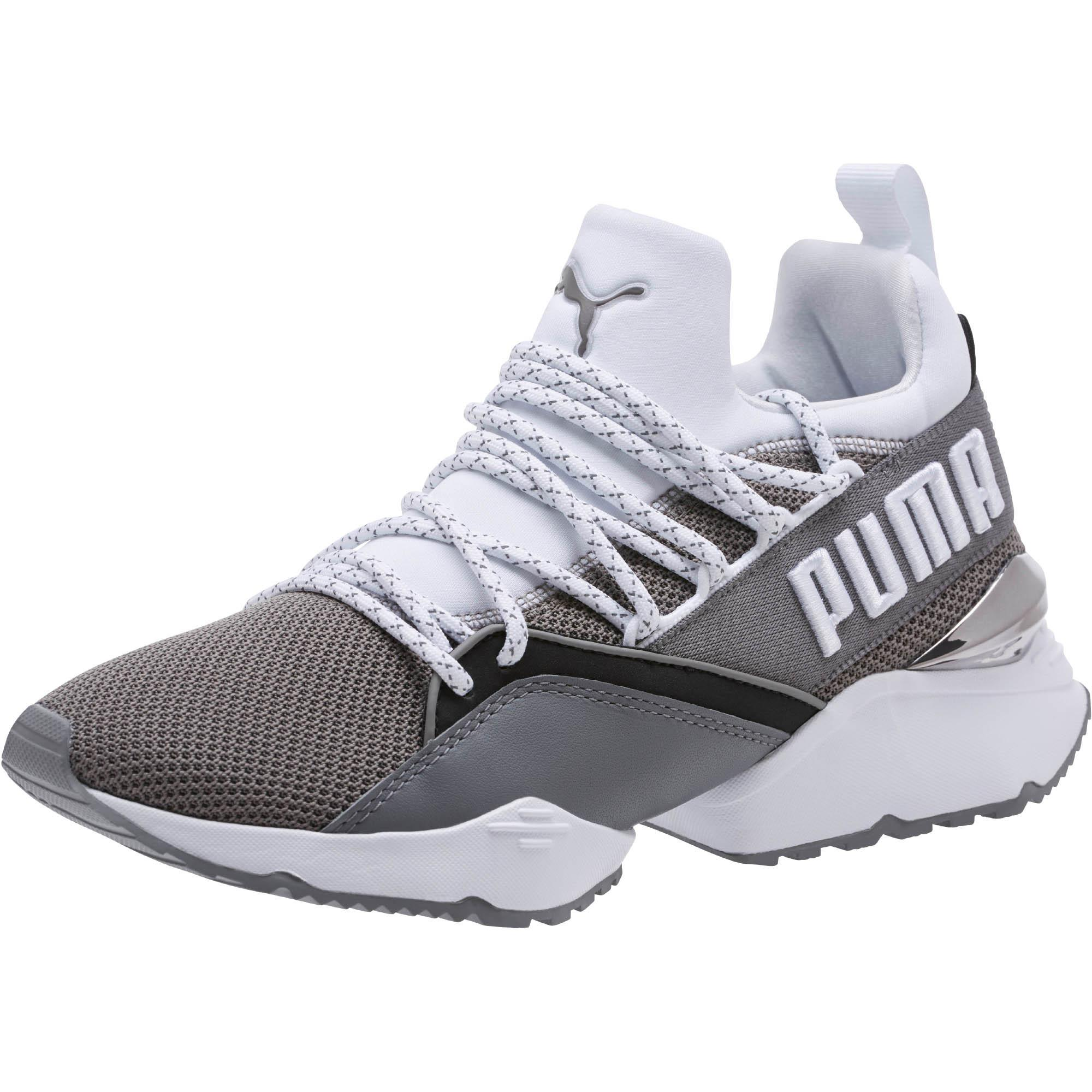 ff735bfb4f2 Lyst - PUMA Muse Maia Smet Women s Sneakers in Gray