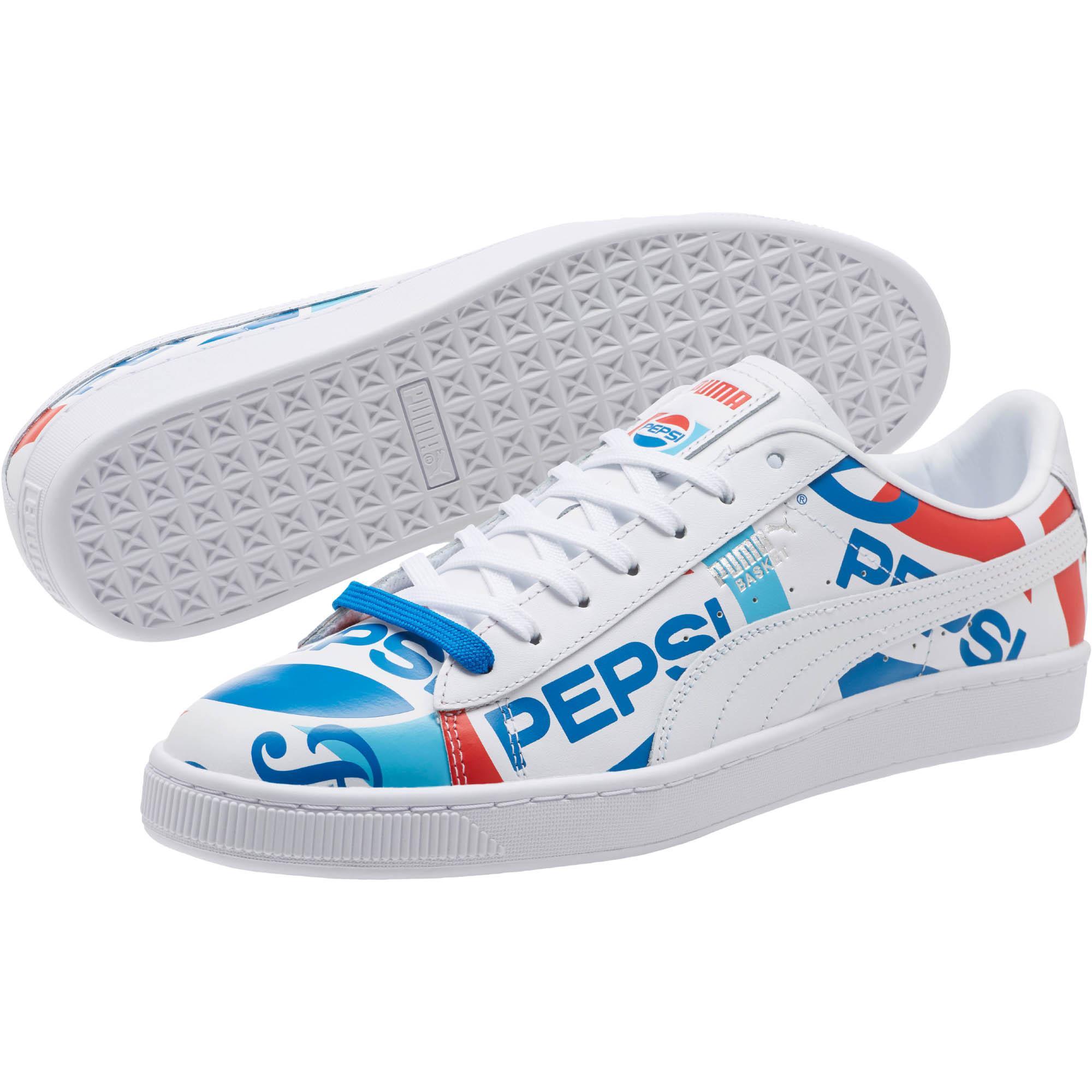002a328cbac Lyst - PUMA Pepsi Basket in Blue for Men