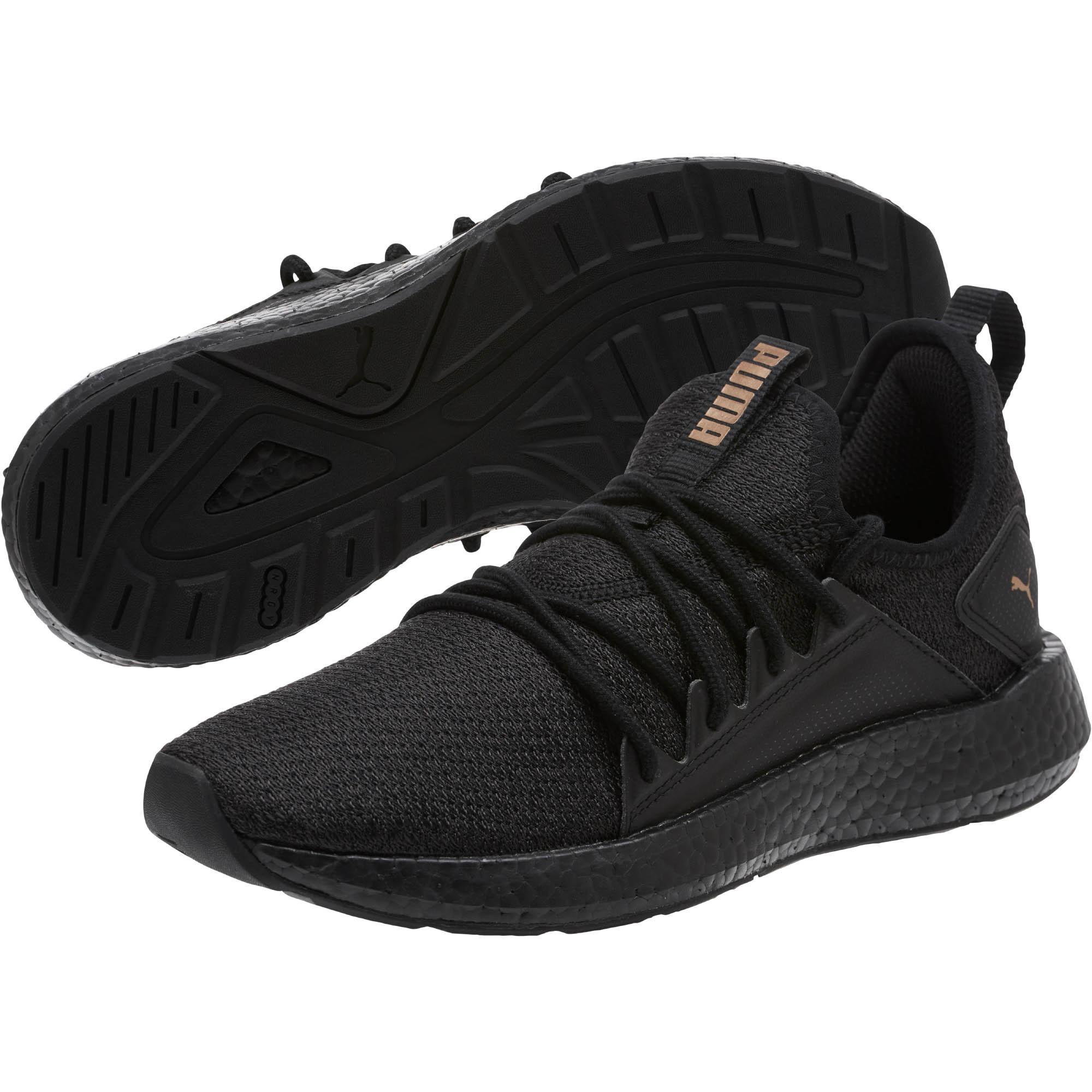 PUMA - Black Nrgy Neko Knit Women s Running Shoes - Lyst. View fullscreen 4f3a5dfff