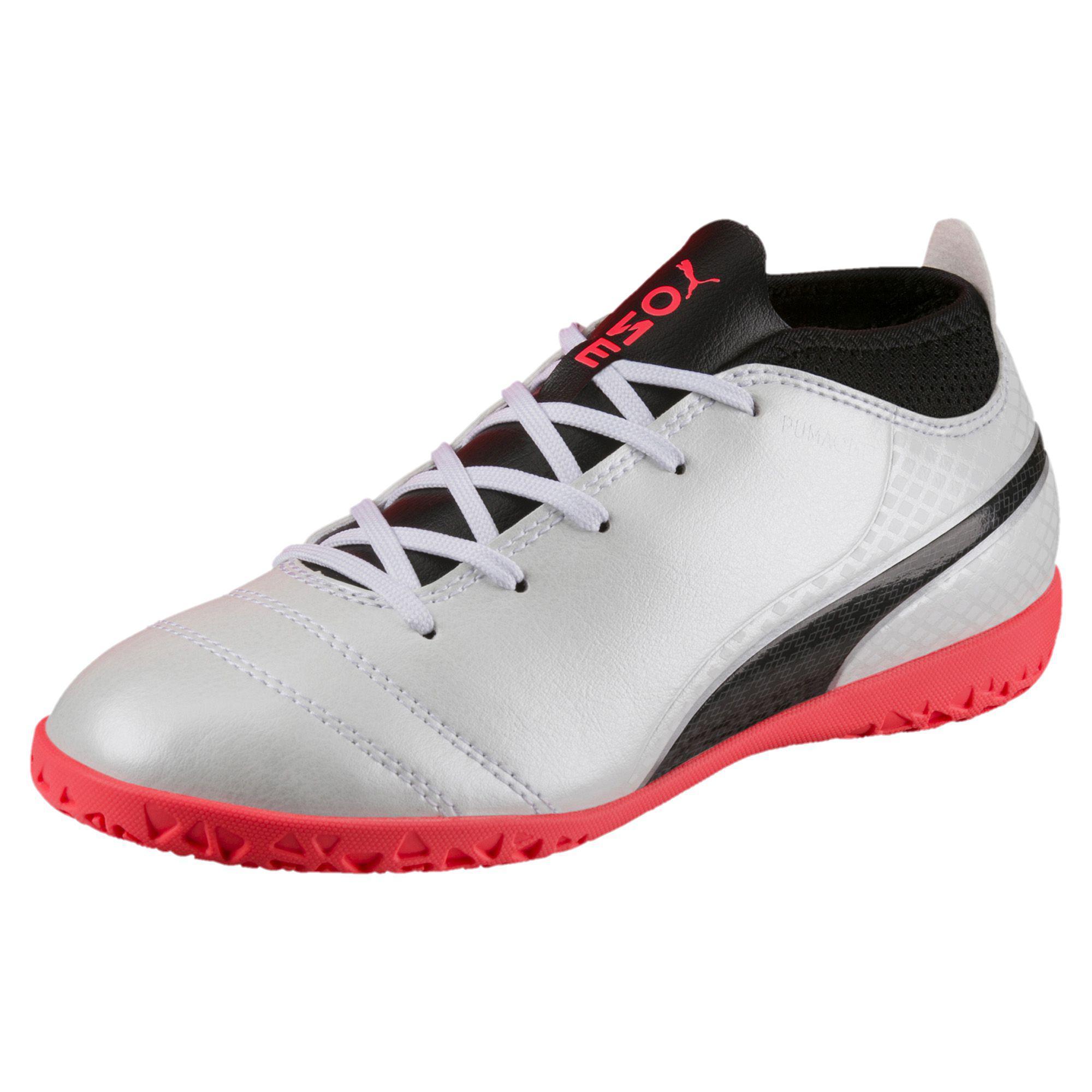 d02c78b48 PUMA One 17.4 It Jr Indoor Soccer Shoes - Lyst