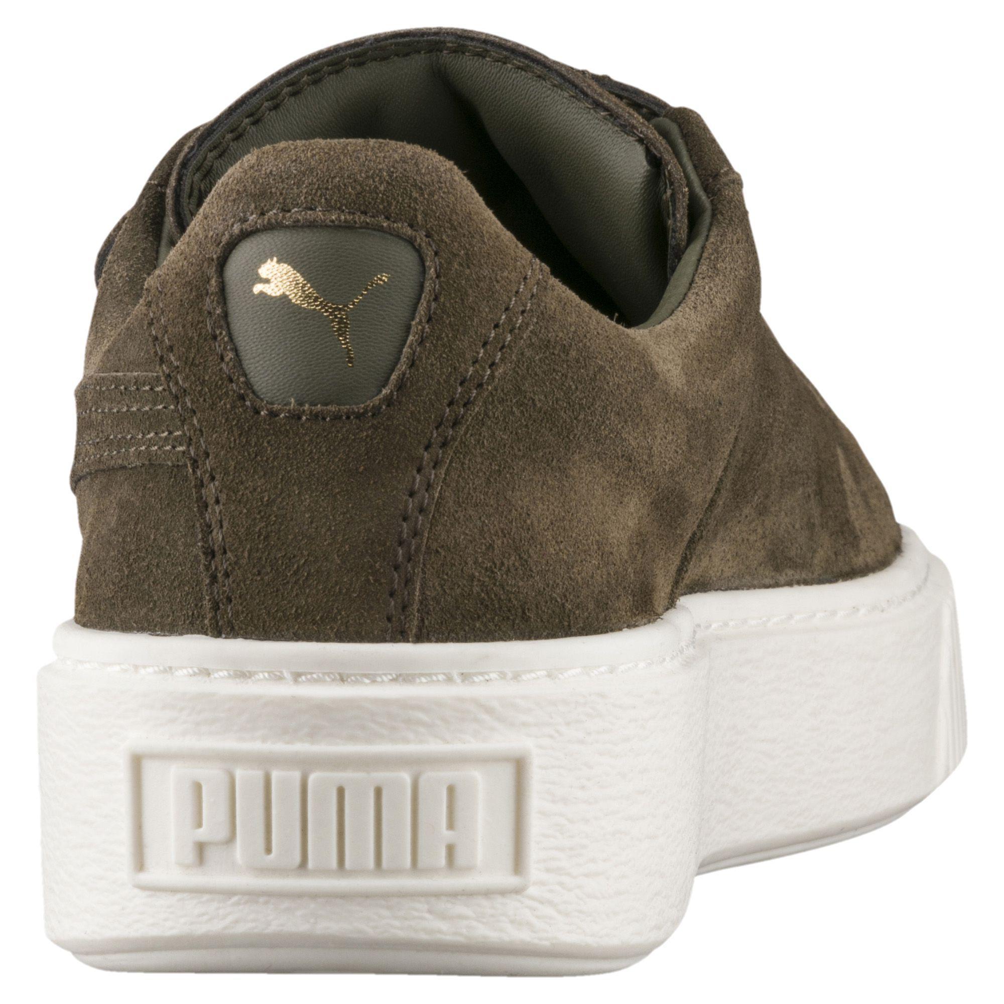 4eeb03761e35 Lyst - PUMA Suede Platform Big Strap Women s Sneakers