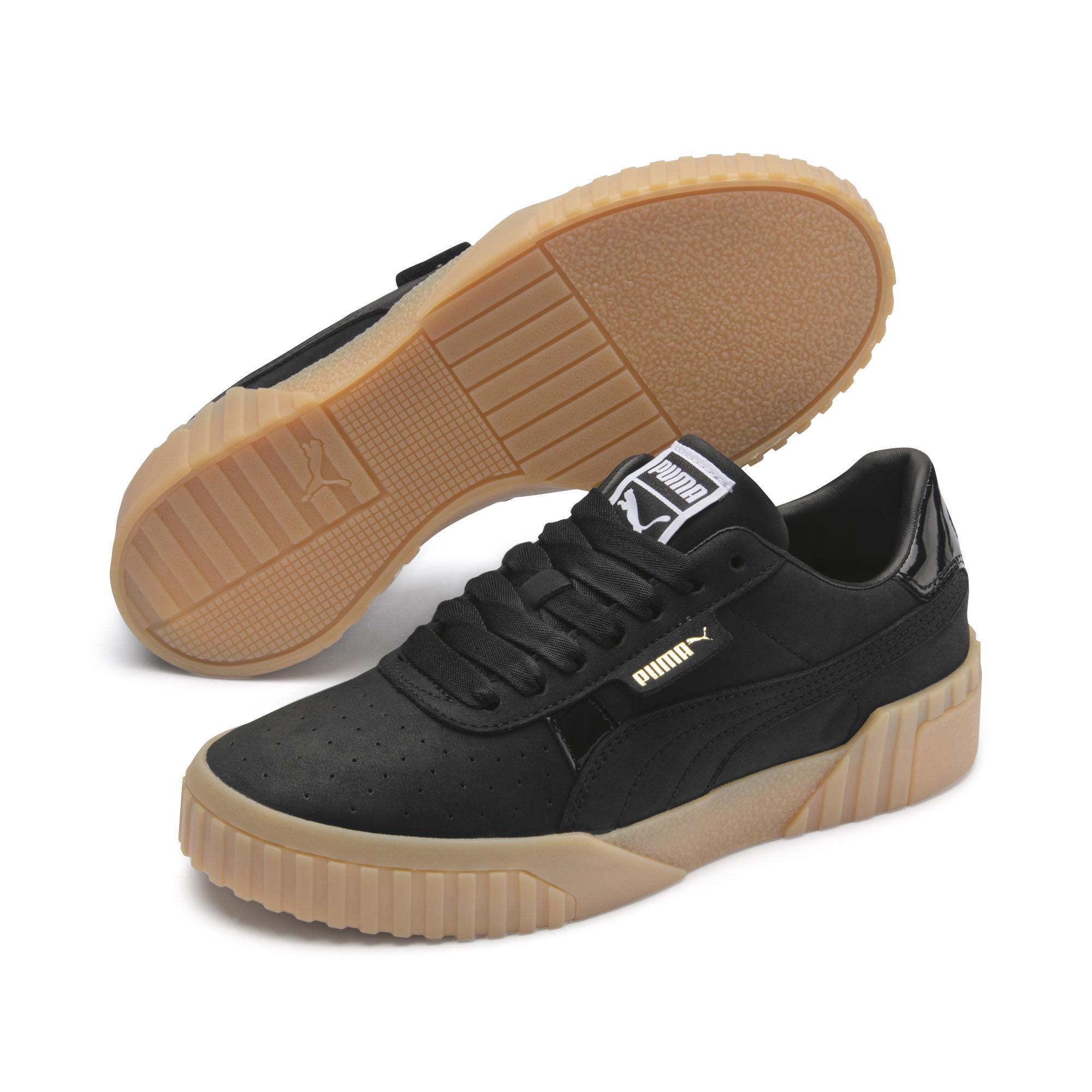 544ede4c2fa8 PUMA - Black Cali Nubuck Women s Sneakers - Lyst. View fullscreen