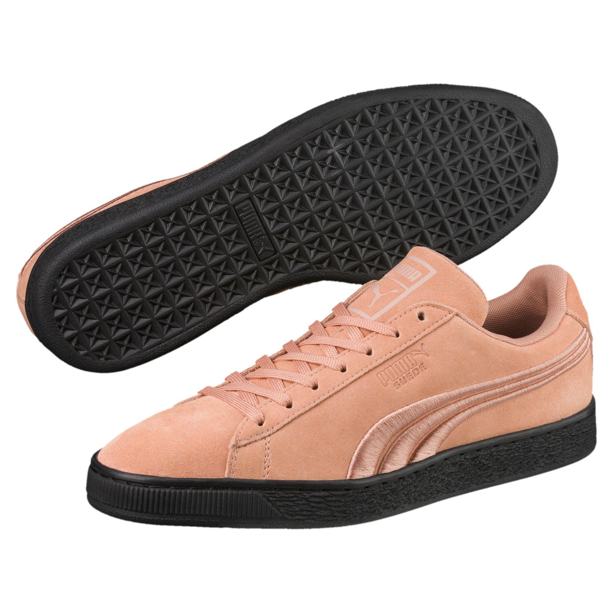 9348bd6015fa PUMA - Black Suede Classic Badge Flip Sneakers for Men - Lyst. View  fullscreen