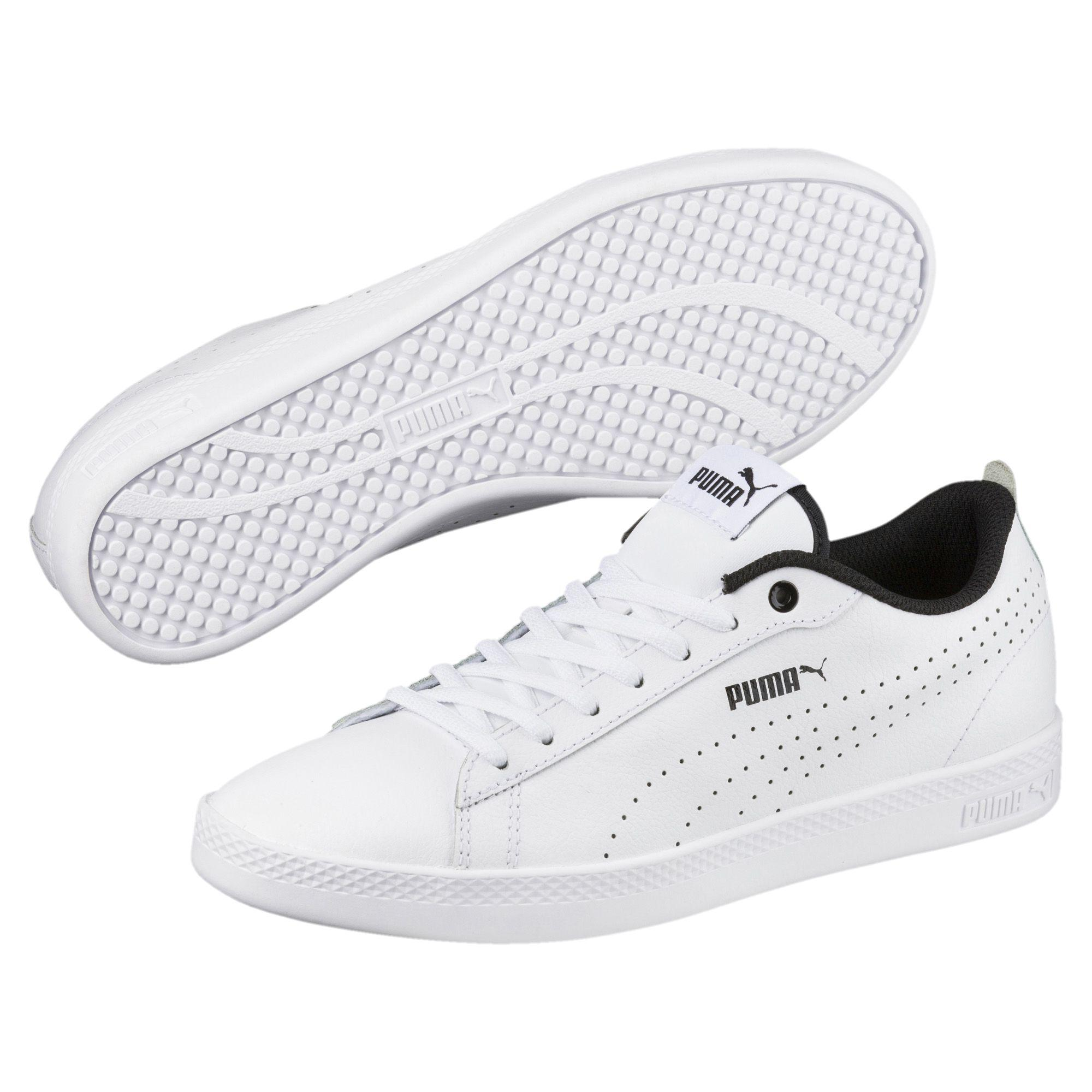 Lyst - PUMA Smash V2 L Perf Women s Sneakers in White b5e5221a4