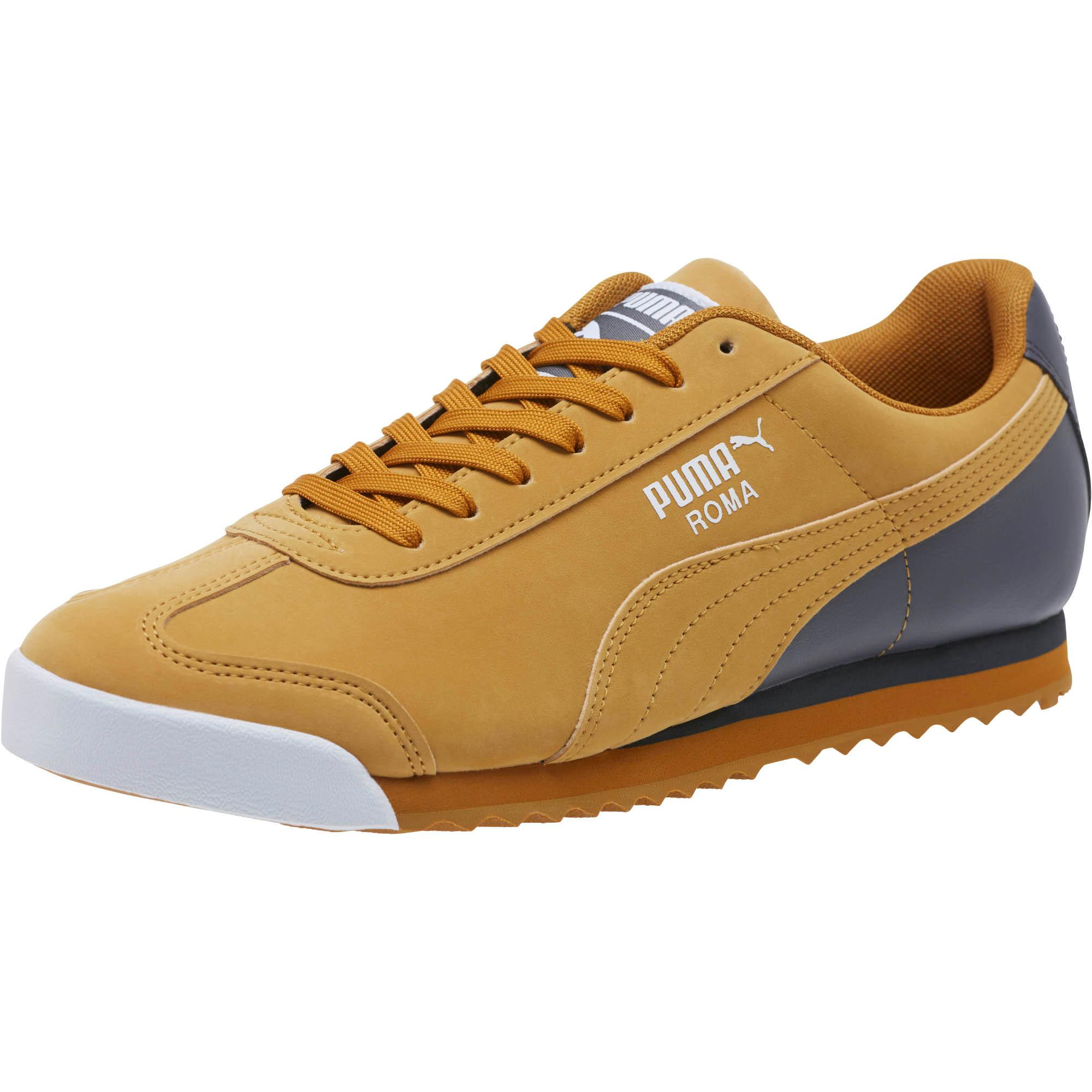 Lyst - PUMA Roma Retro Sports Men s Sneakers in Brown for Men 2b425b891