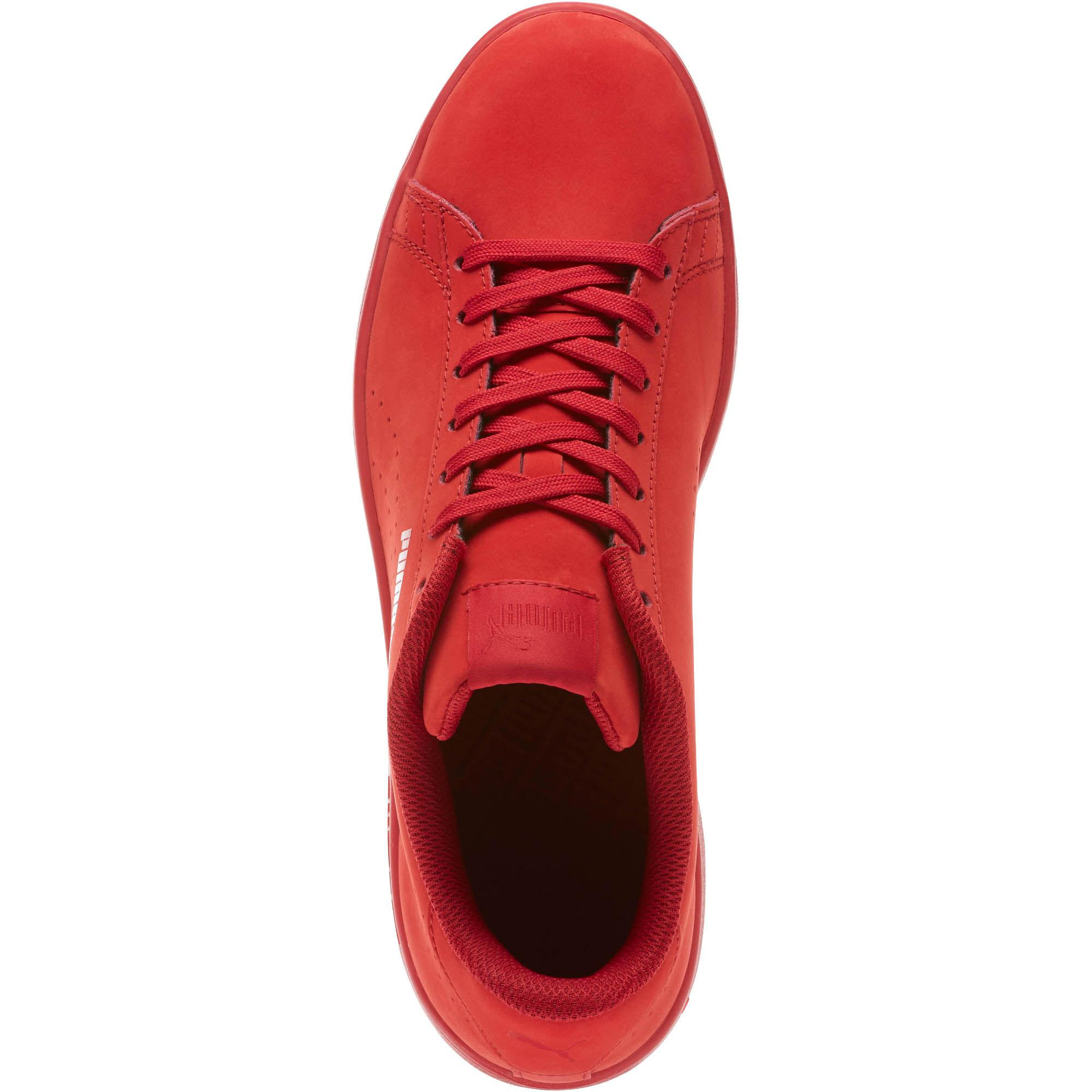536f9c30b77 Lyst - PUMA Smash V2 Nubuck Men s Sneakers in Red for Men