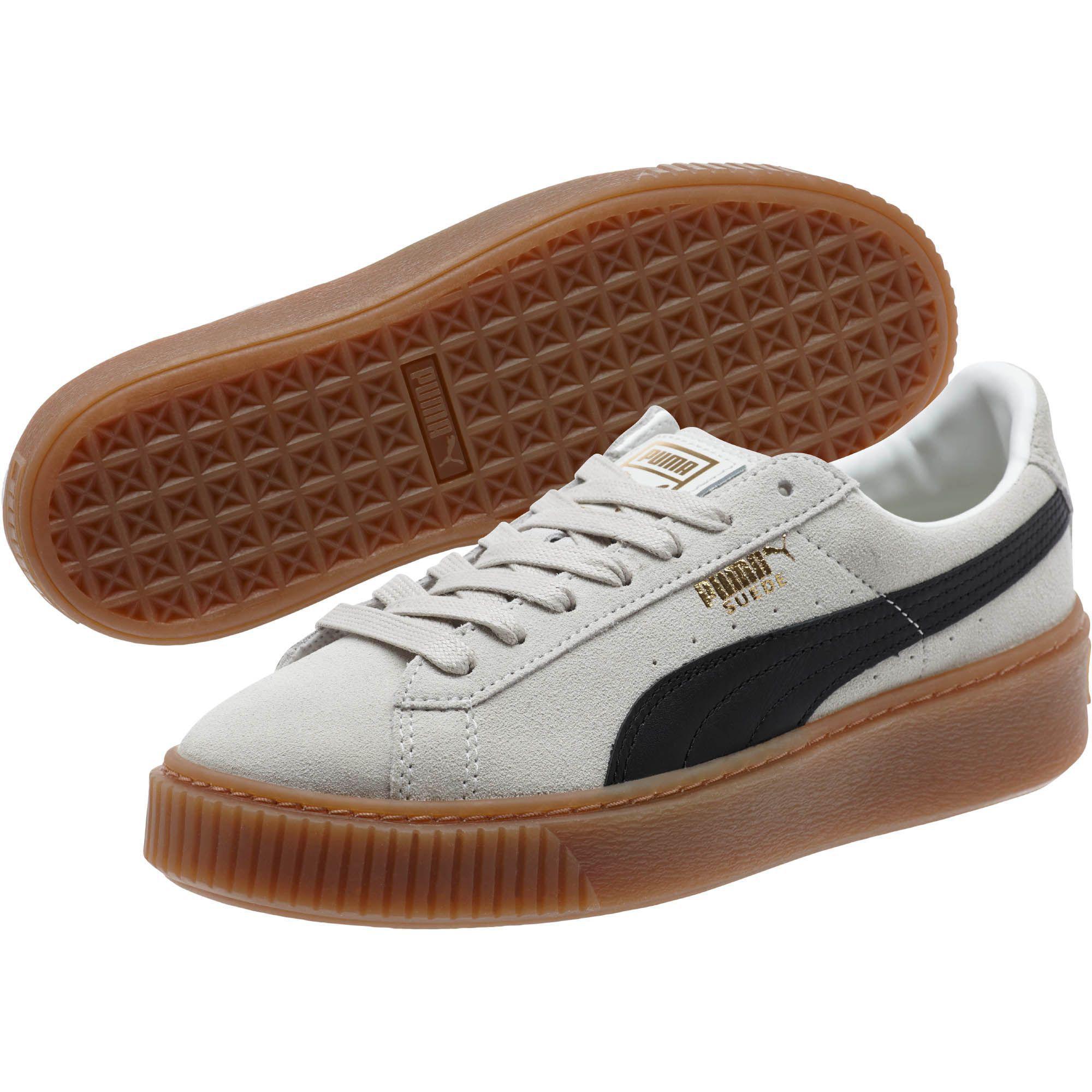 Lyst - PUMA Suede Platform Core Women s Sneakers 1fe6089f9