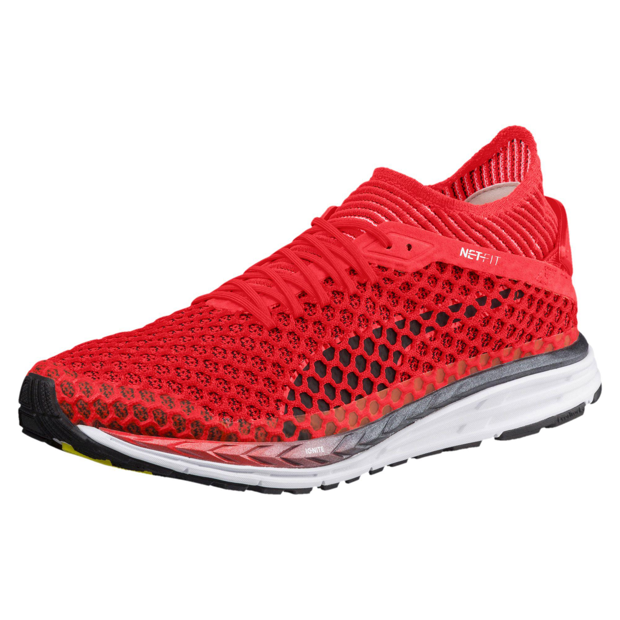 4d46082440e PUMA Speed Ignite Netfit 2 Men s Running Shoes in Red for Men - Lyst