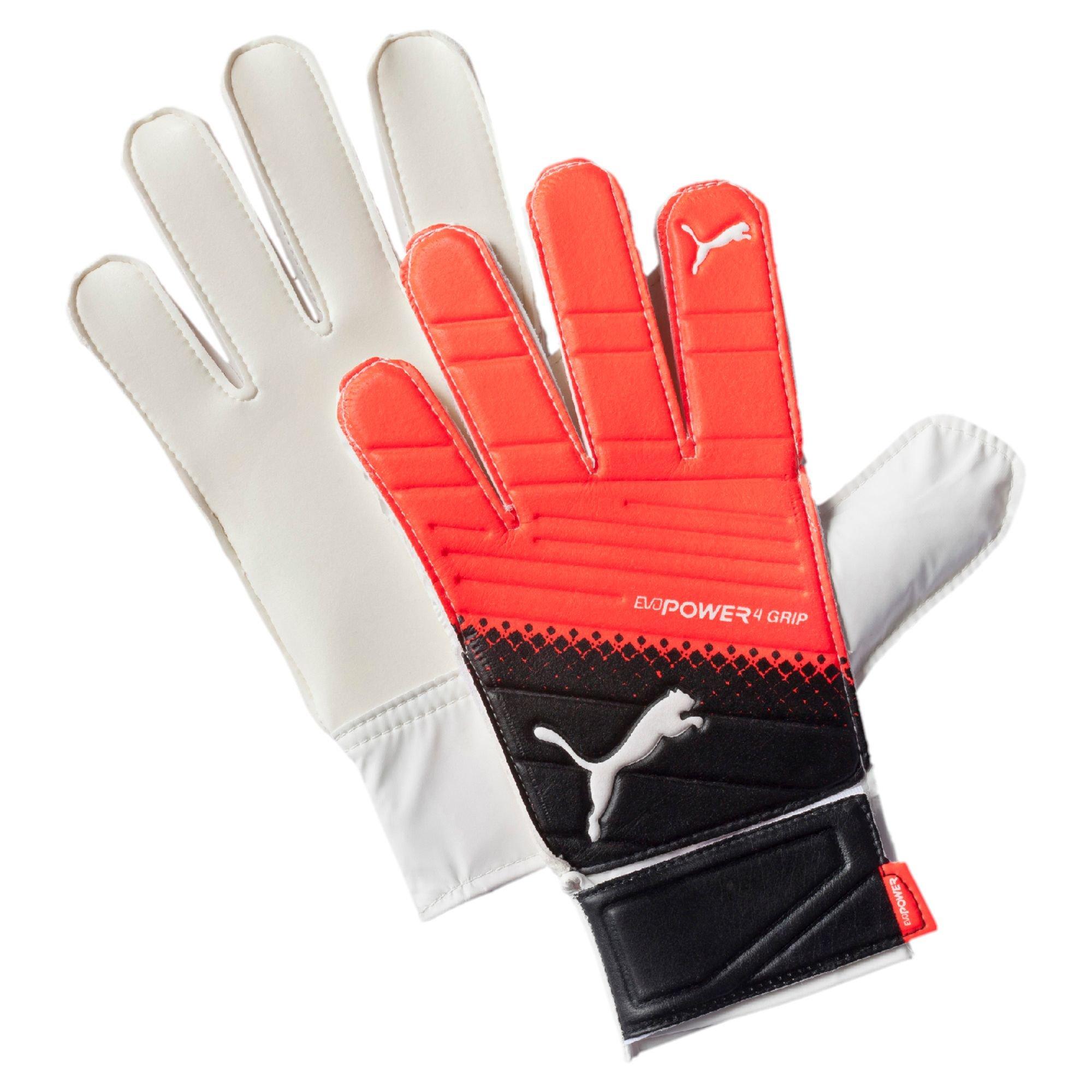 Driving gloves grip -  Puma Evopower Grip 4 3 Goalkeeper Gloves In Red For Men Lyst