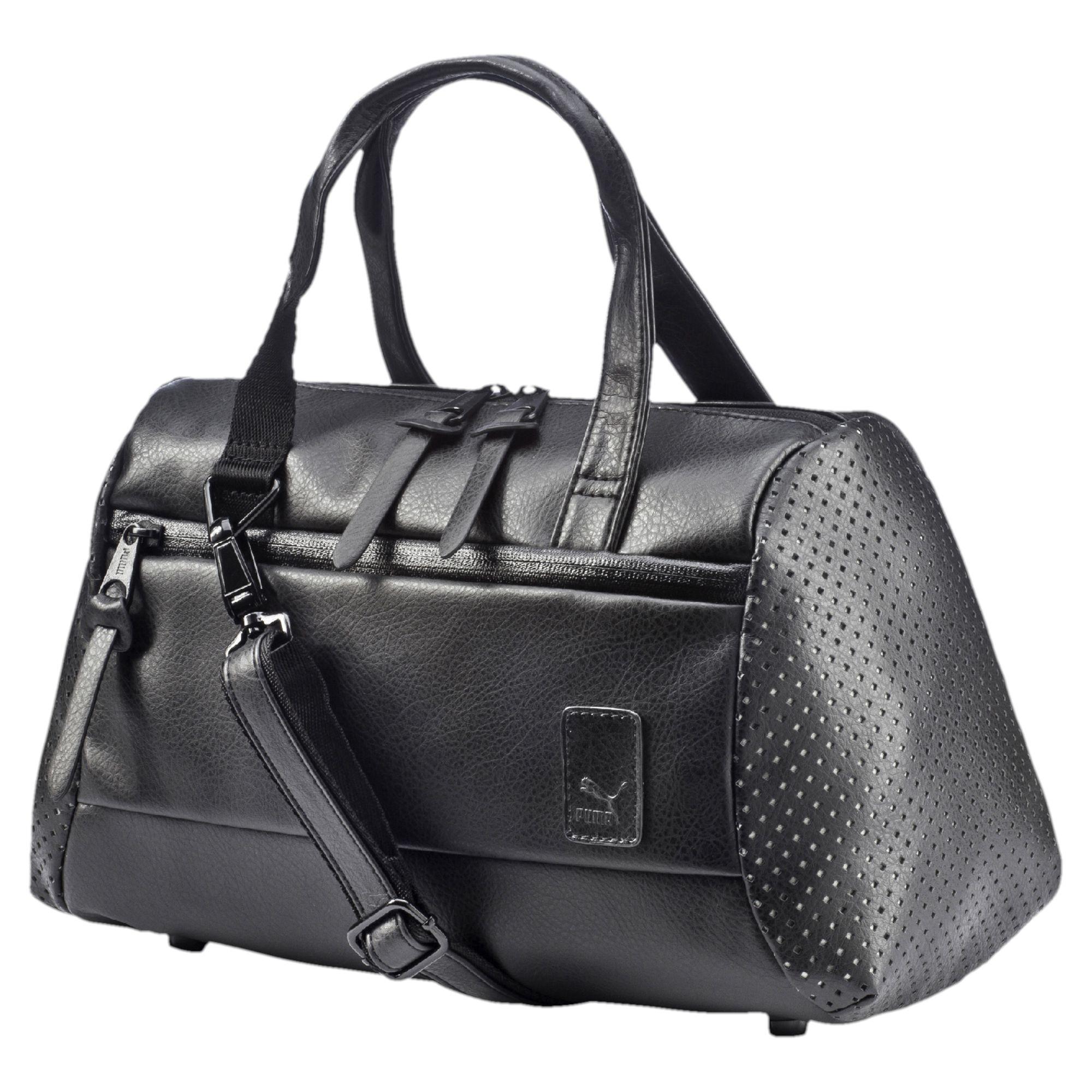 8b651b94e0b8 Lyst - PUMA Evo Plus Handbag in Black