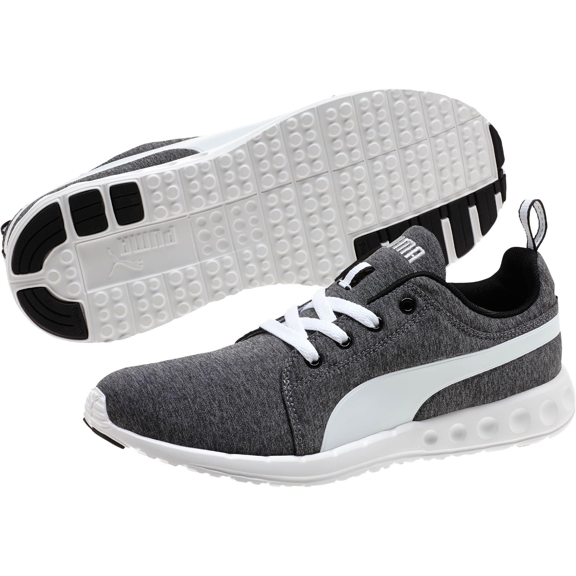 130099fc8bd Lyst - PUMA Carson Runner Heather Men s Running Shoes in Gray for Men