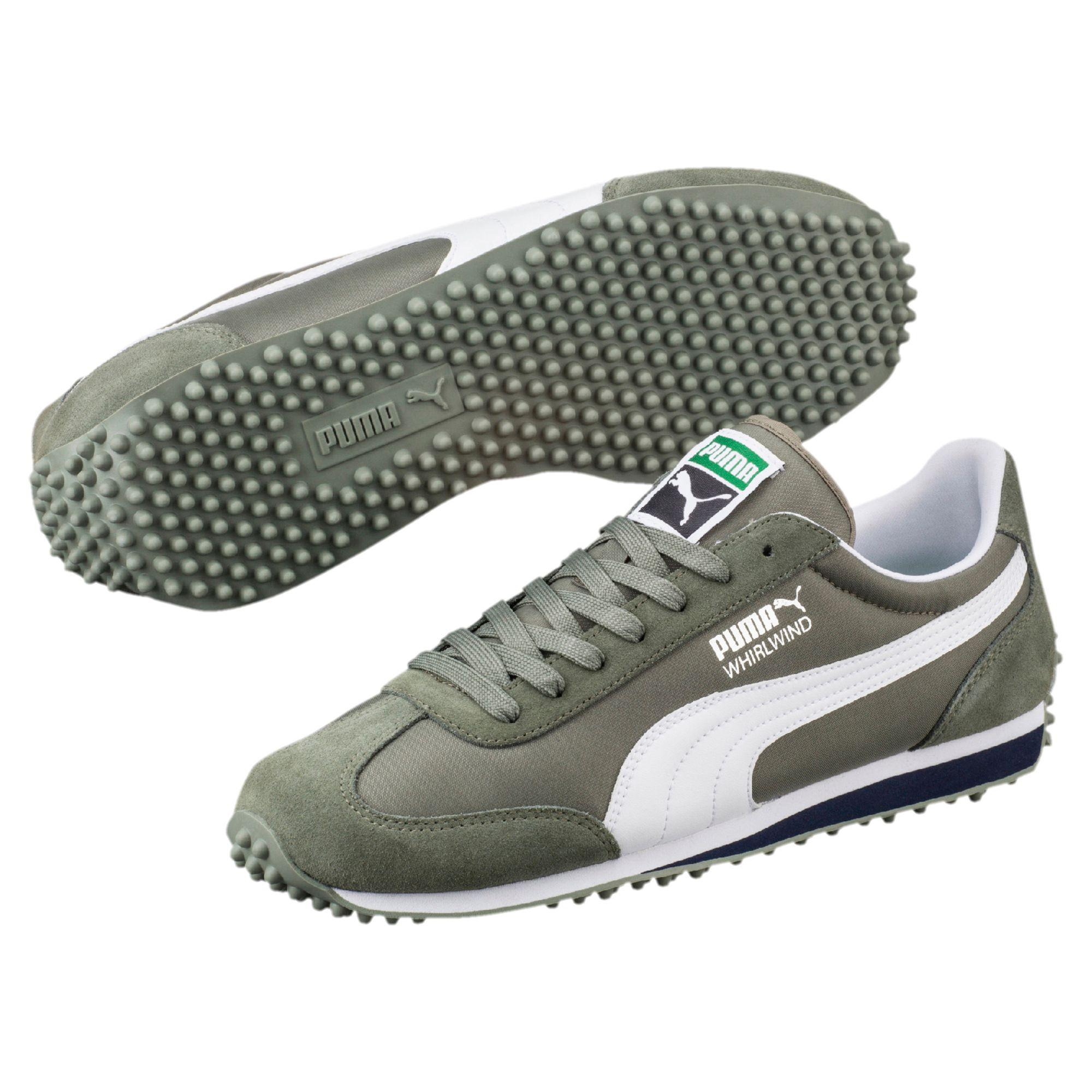 Lyst - Puma Whirlwind Classic Men s Sneakers in Green for Men d97ba8226