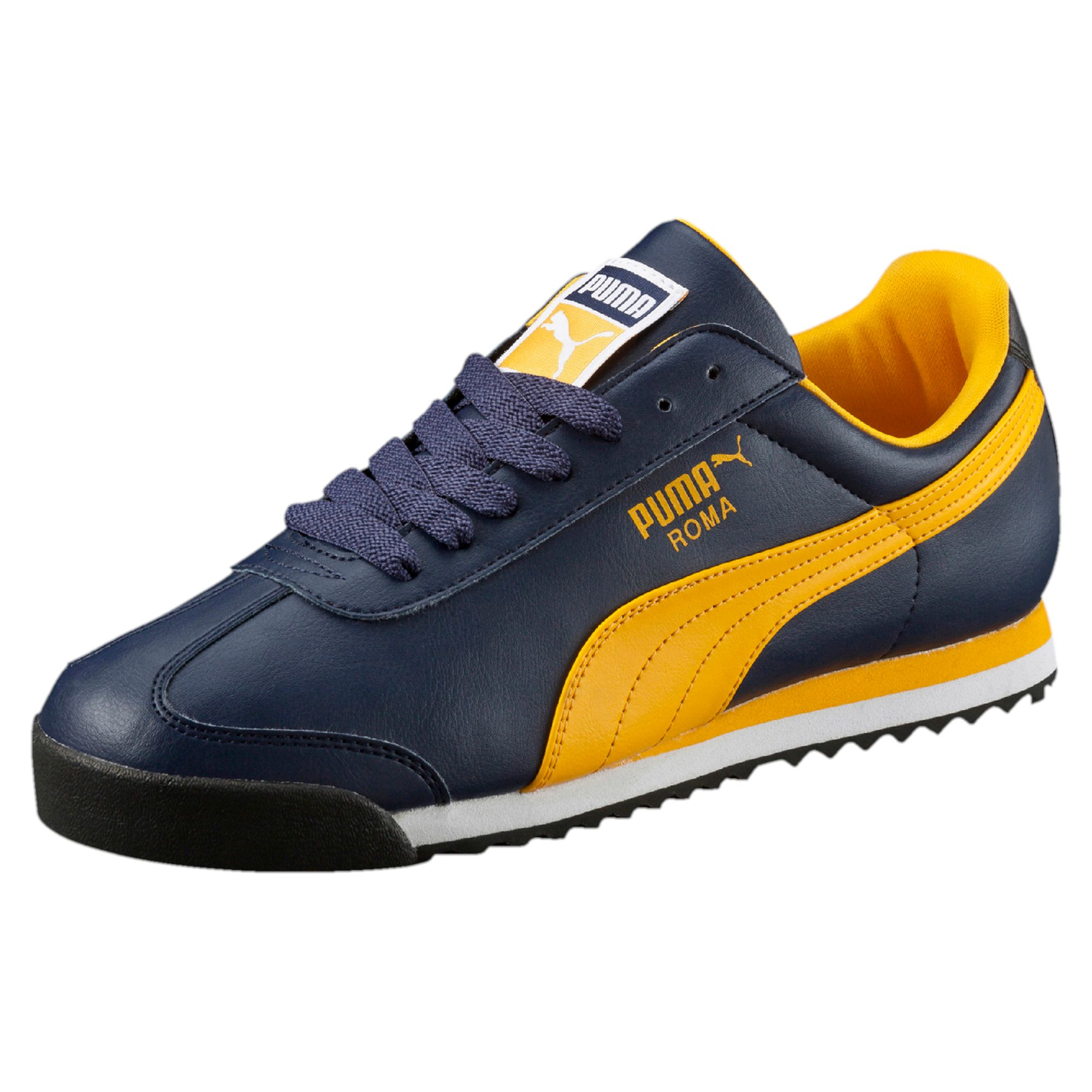Lyst - PUMA Roma Men s Sneakers in Yellow for Men d5bf6b88b57f