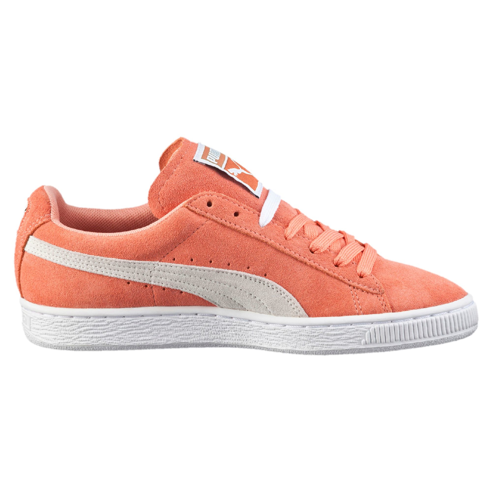 puma suede classic women 39 s sneakers in pink lyst. Black Bedroom Furniture Sets. Home Design Ideas