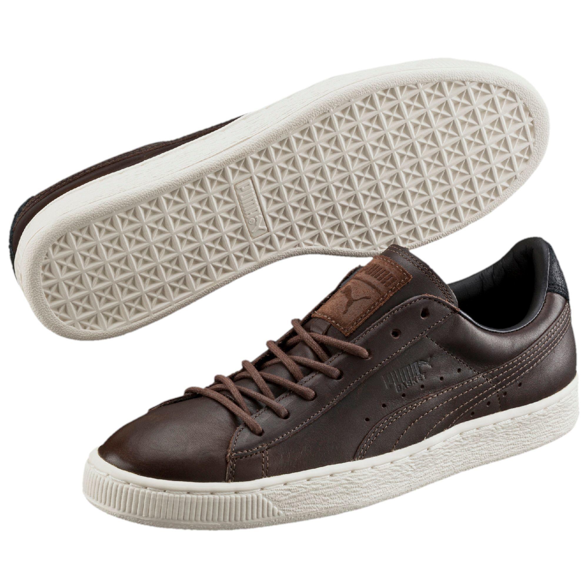 Lyst - PUMA Basket Citi Series Men s Sneakers in Brown for Men b7828c4ff