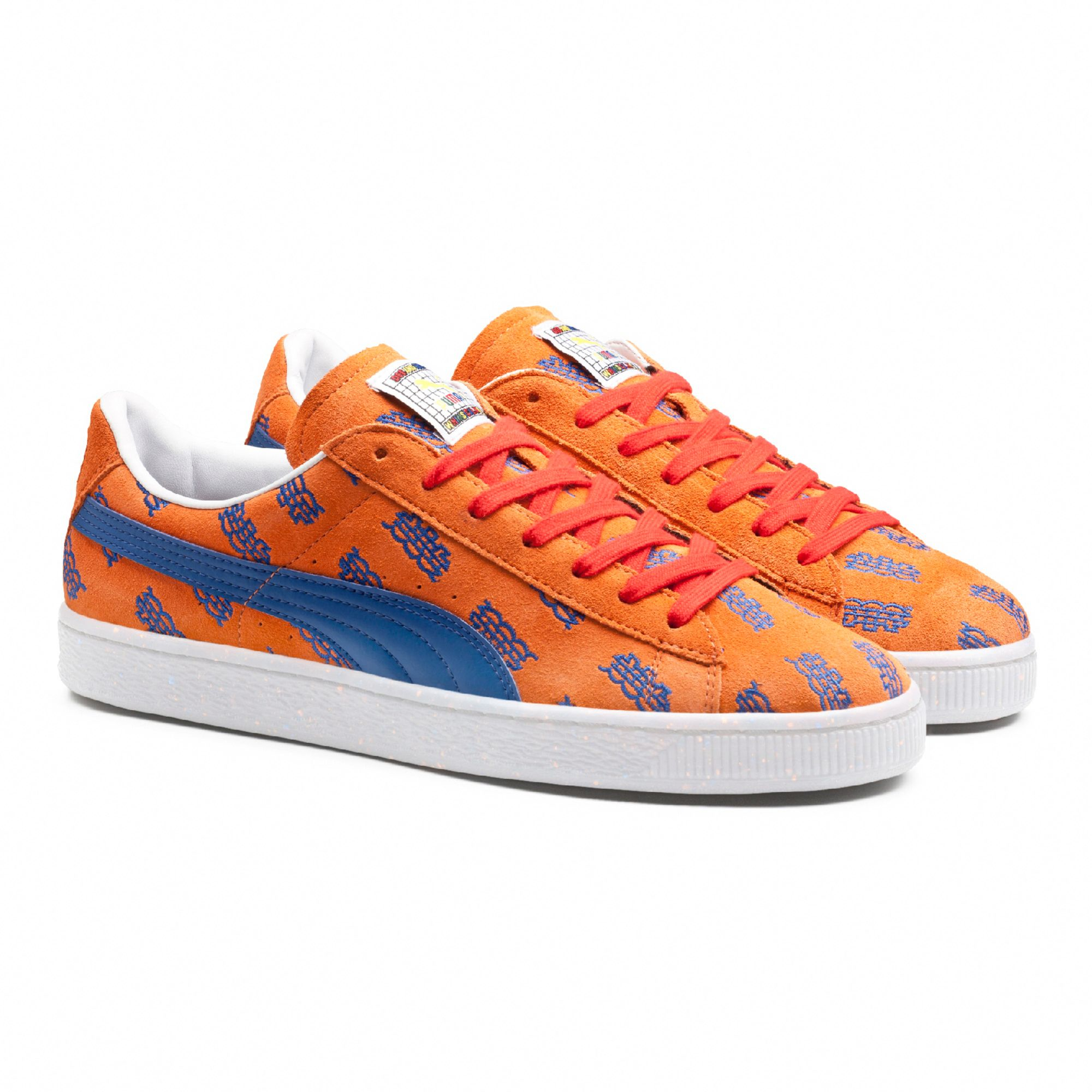 d0cab4540e4 Lyst - PUMA X Dee   Ricky Basket Nyc in Orange