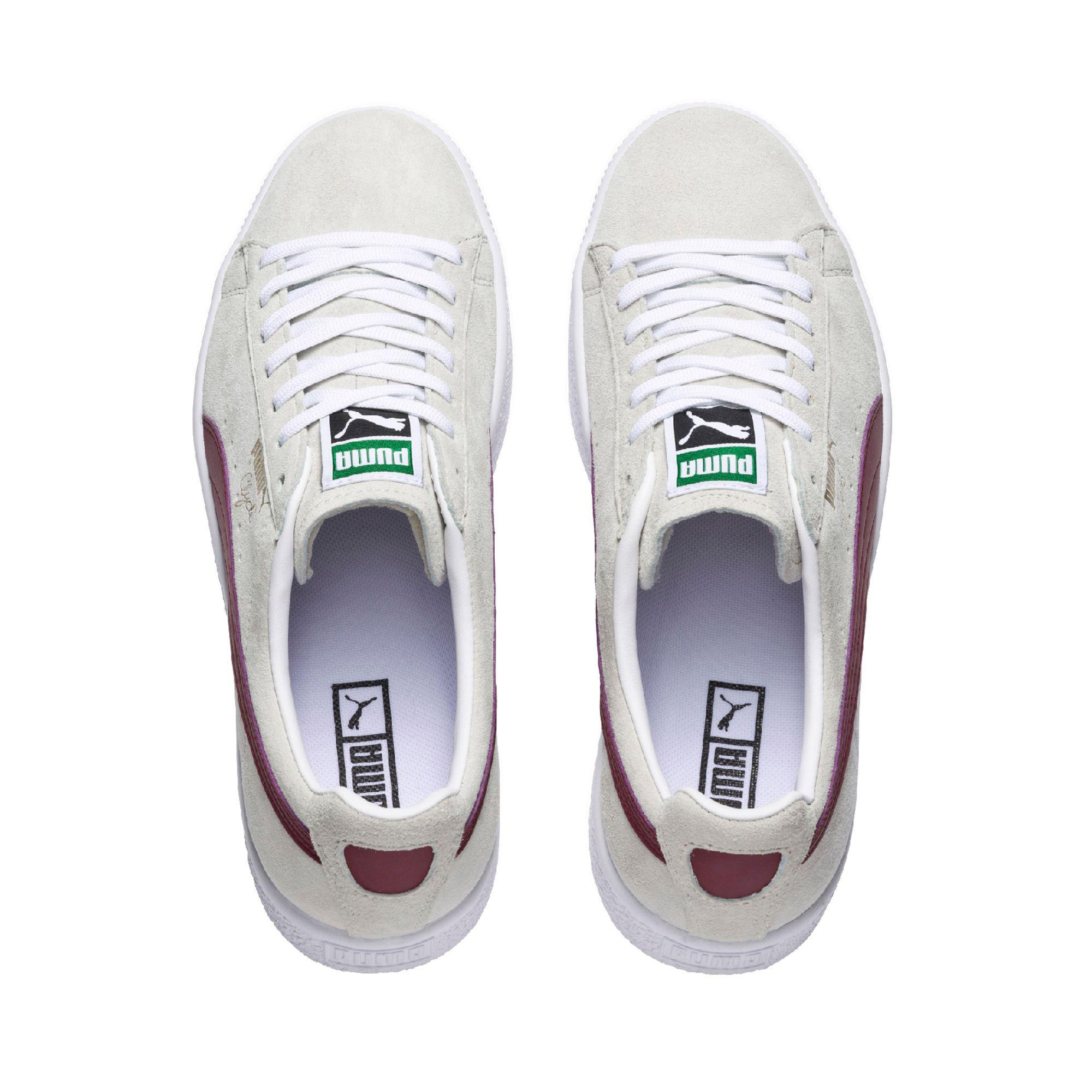 Lyst - Puma Clyde Premium Core Men s Sneakers in White for Men aecb63e0d