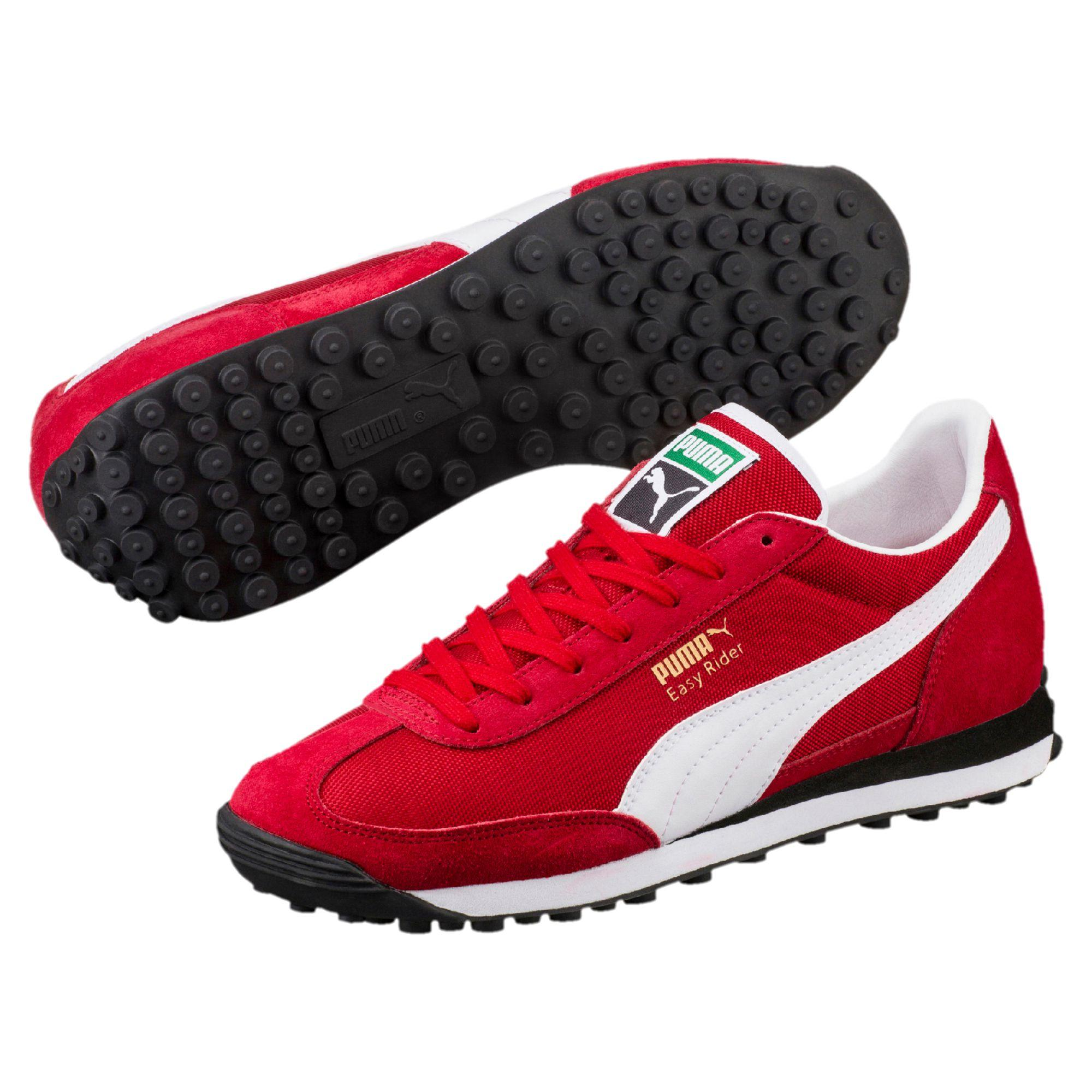 44582b1dc53d58 Lyst - PUMA Easy Rider Men s Sneakers in Red for Men
