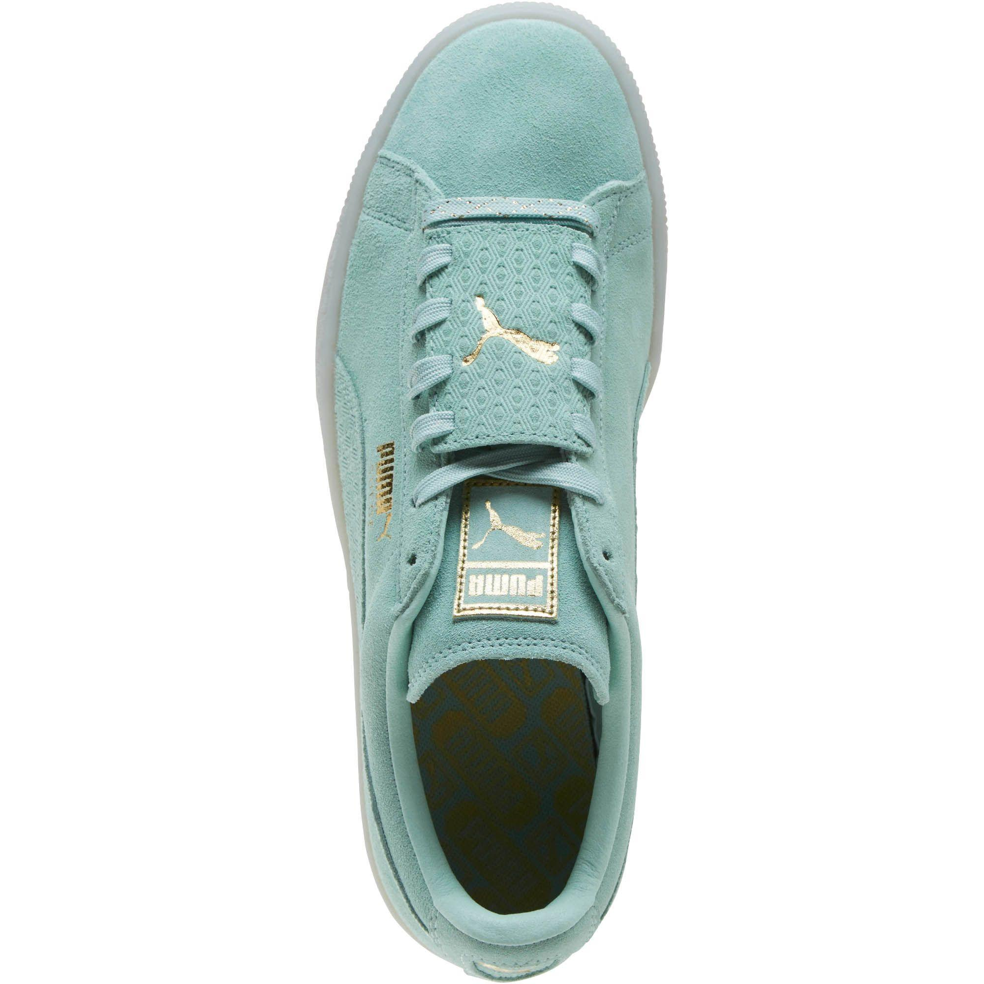 Lyst - PUMA Suede Epic Remix Men s Sneakers in Green for Men f072a7322
