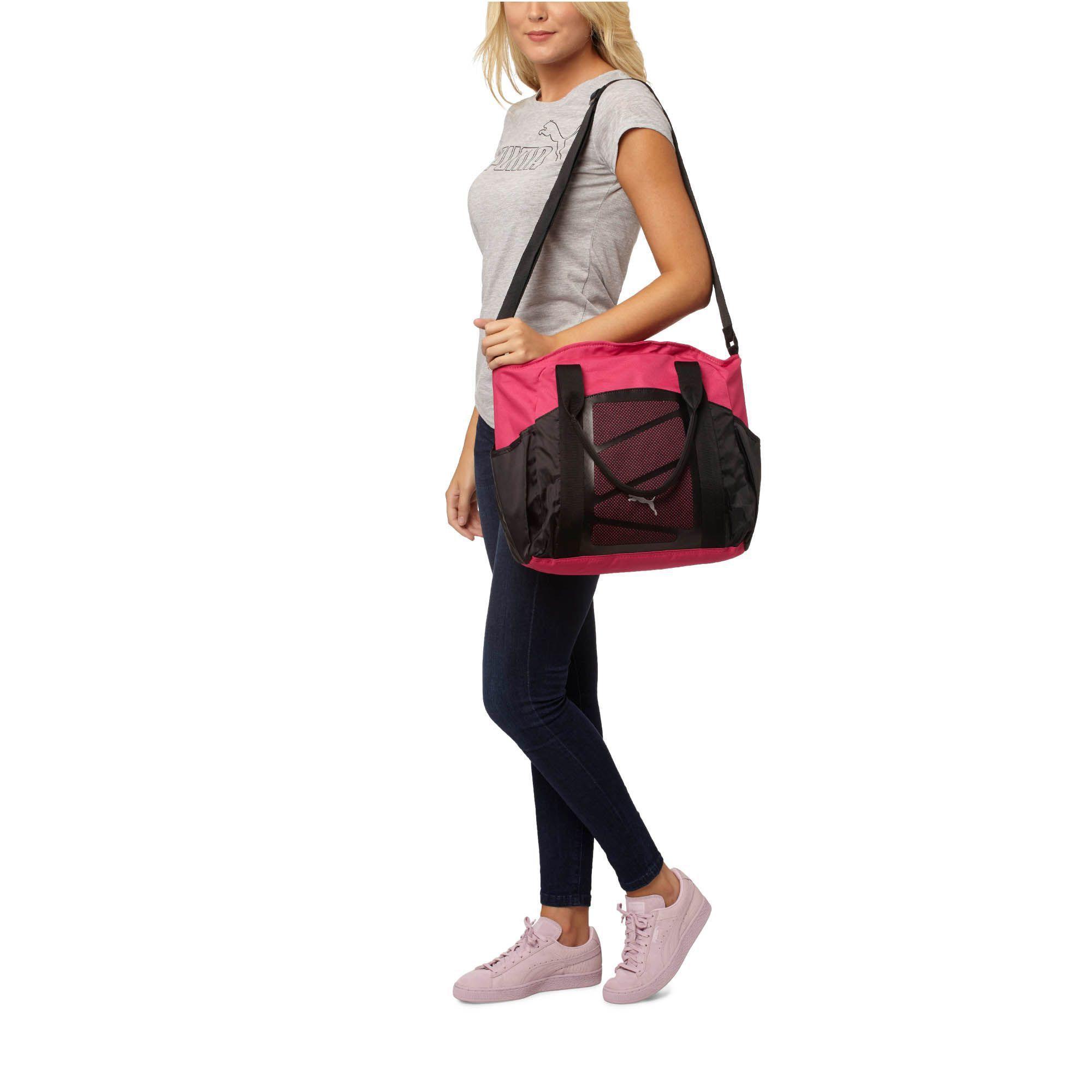 05c334ed09 Lyst - PUMA Alexia Tote Bag in Pink