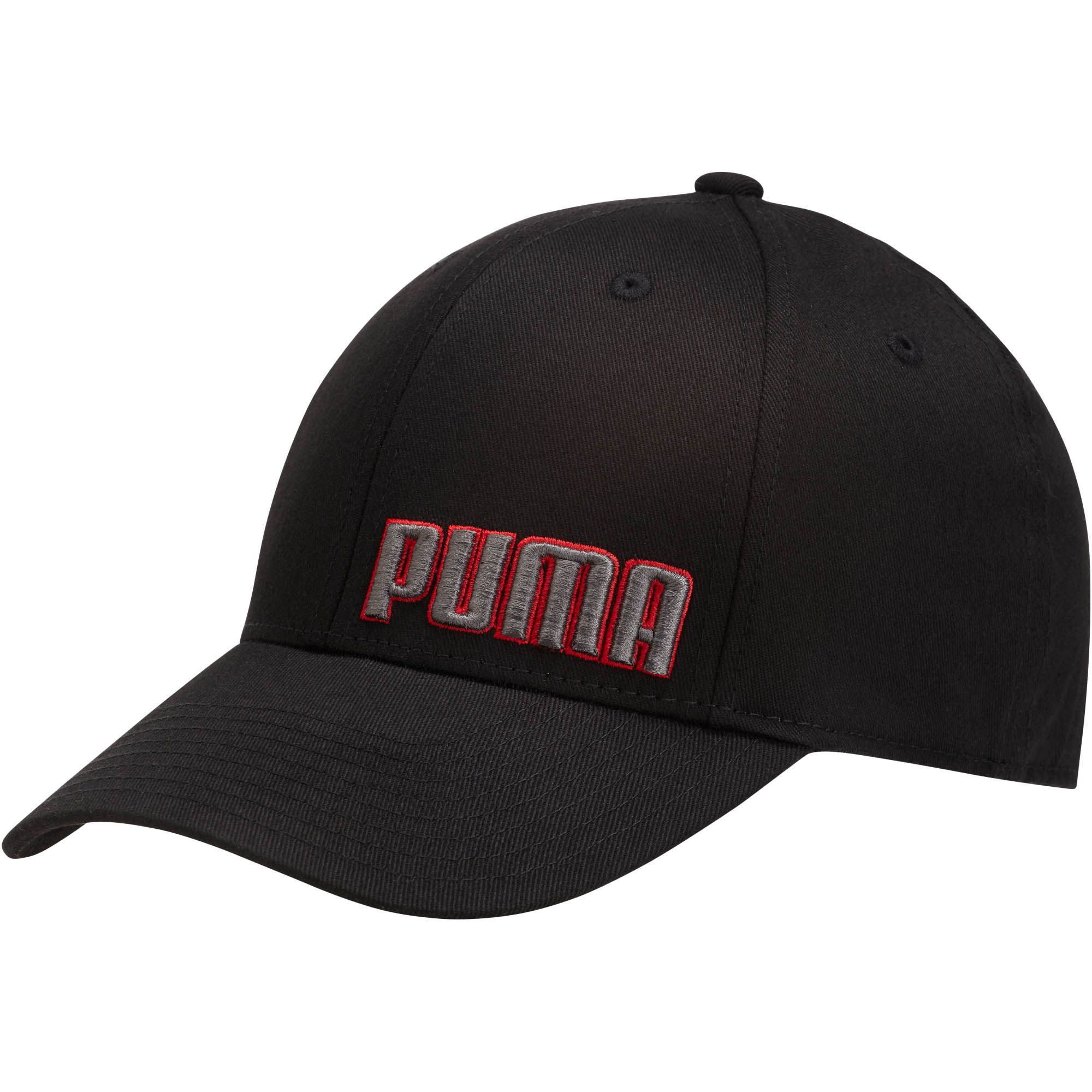 723d3a3c115 Lyst - PUMA Gridlock Stretch Fitted Hat in Black for Men