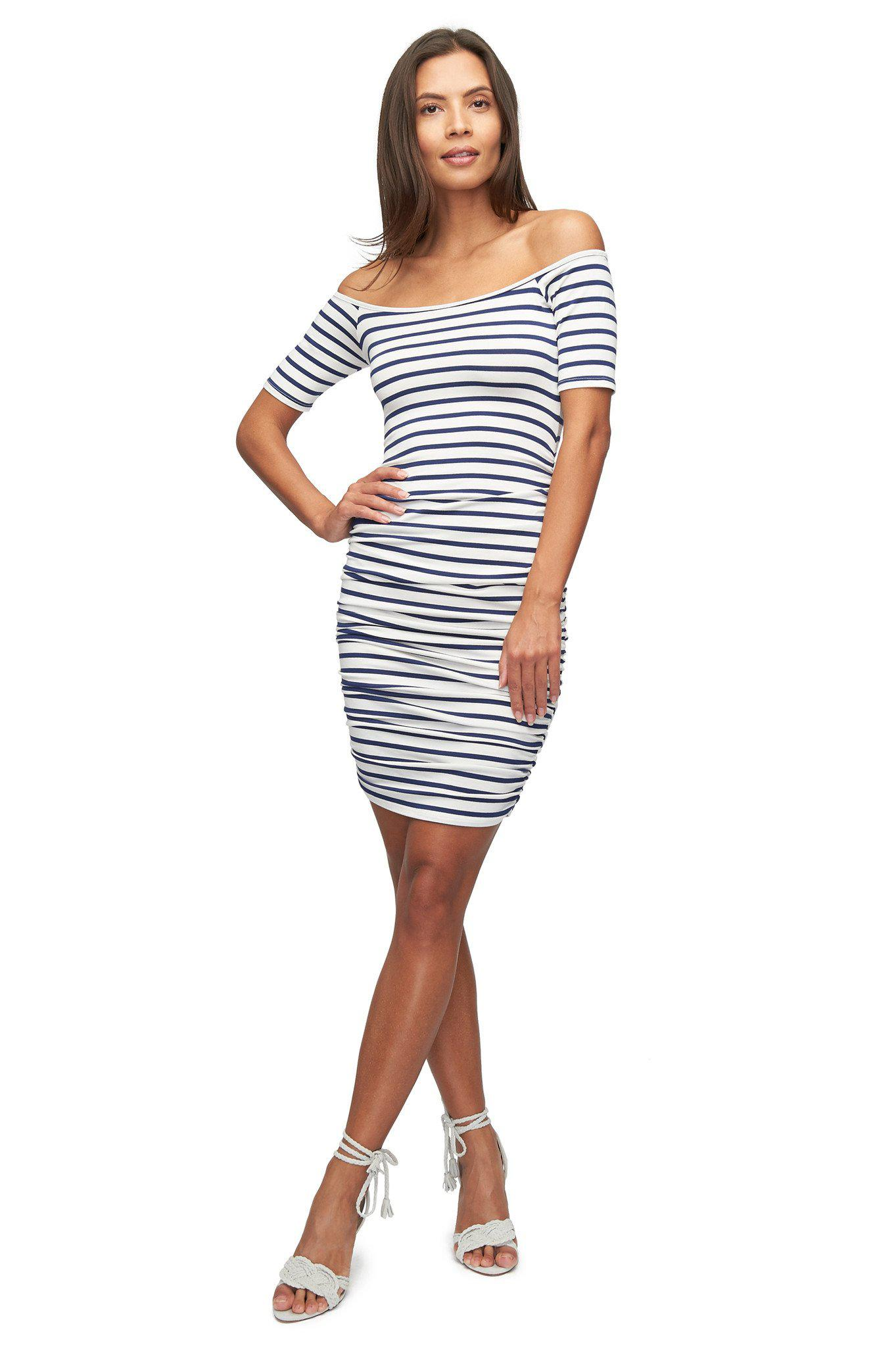 6572e1178d116 Lyst - Rachel Pally Mavery Dress Print - Jupiter Stripe in Blue