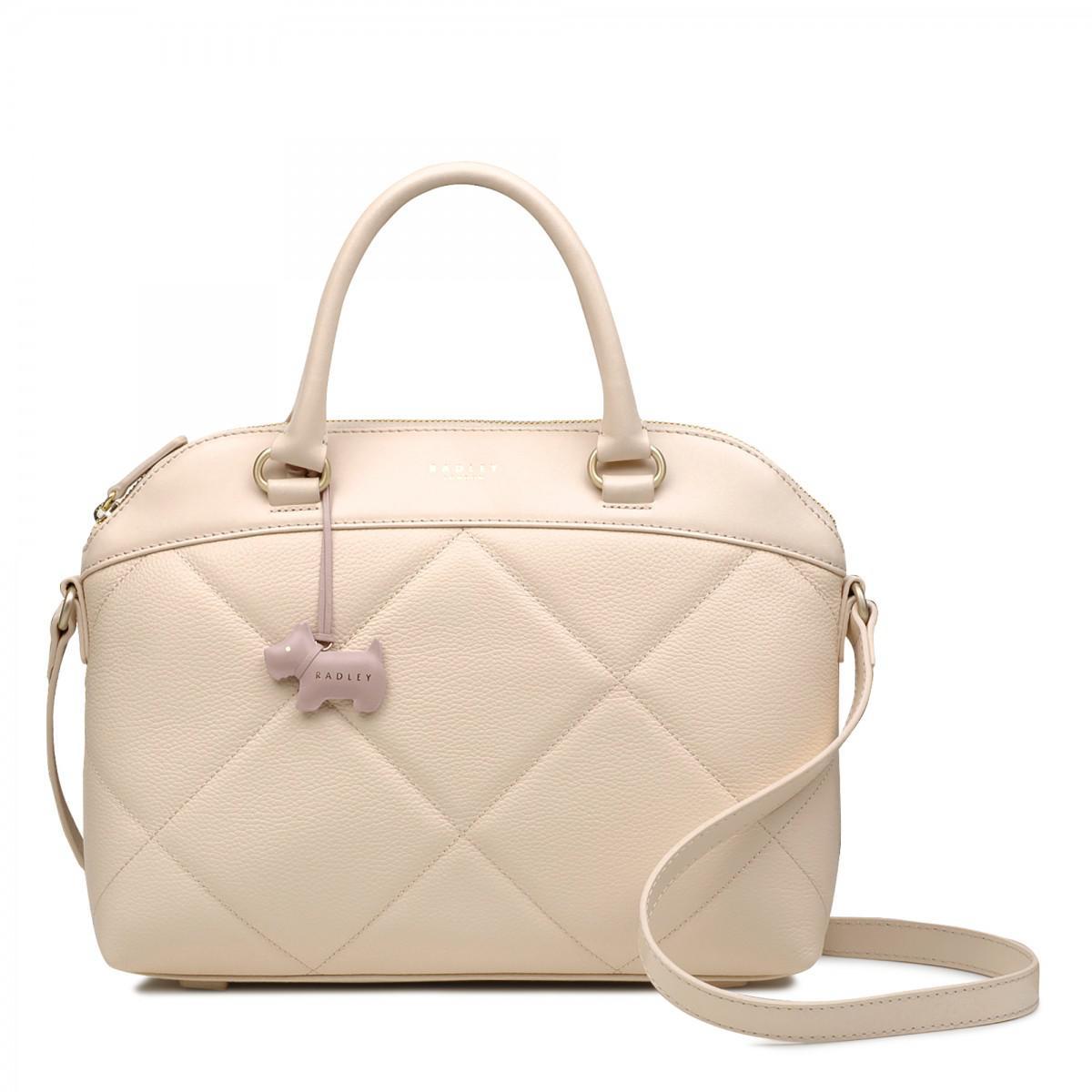 d693d72347 Radley Fenchurch Street Medium Zip-top Multiway Grab Bag in Natural ...