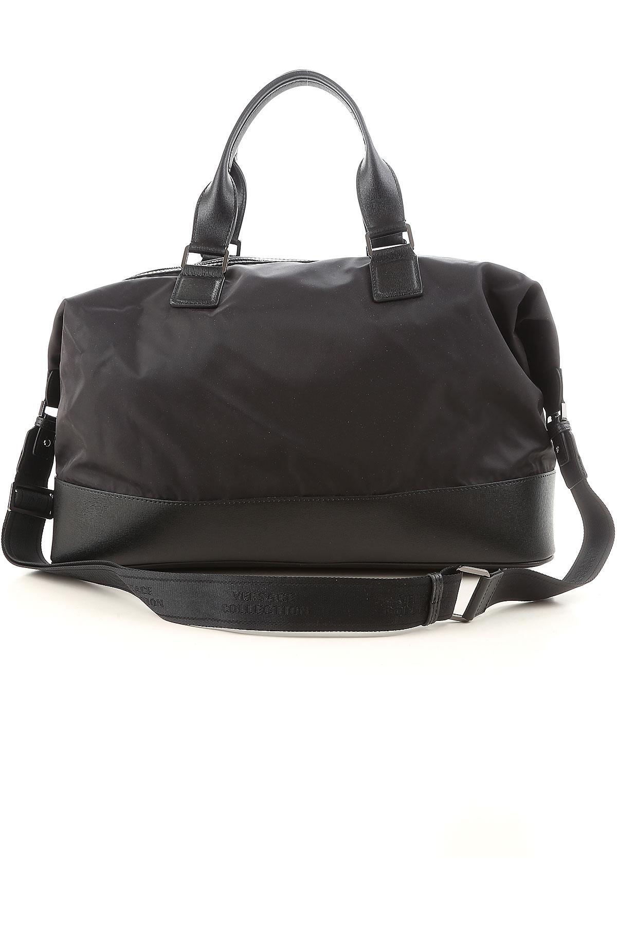 1979c4a08f0b Versace Bags For Men in Black for Men - Lyst