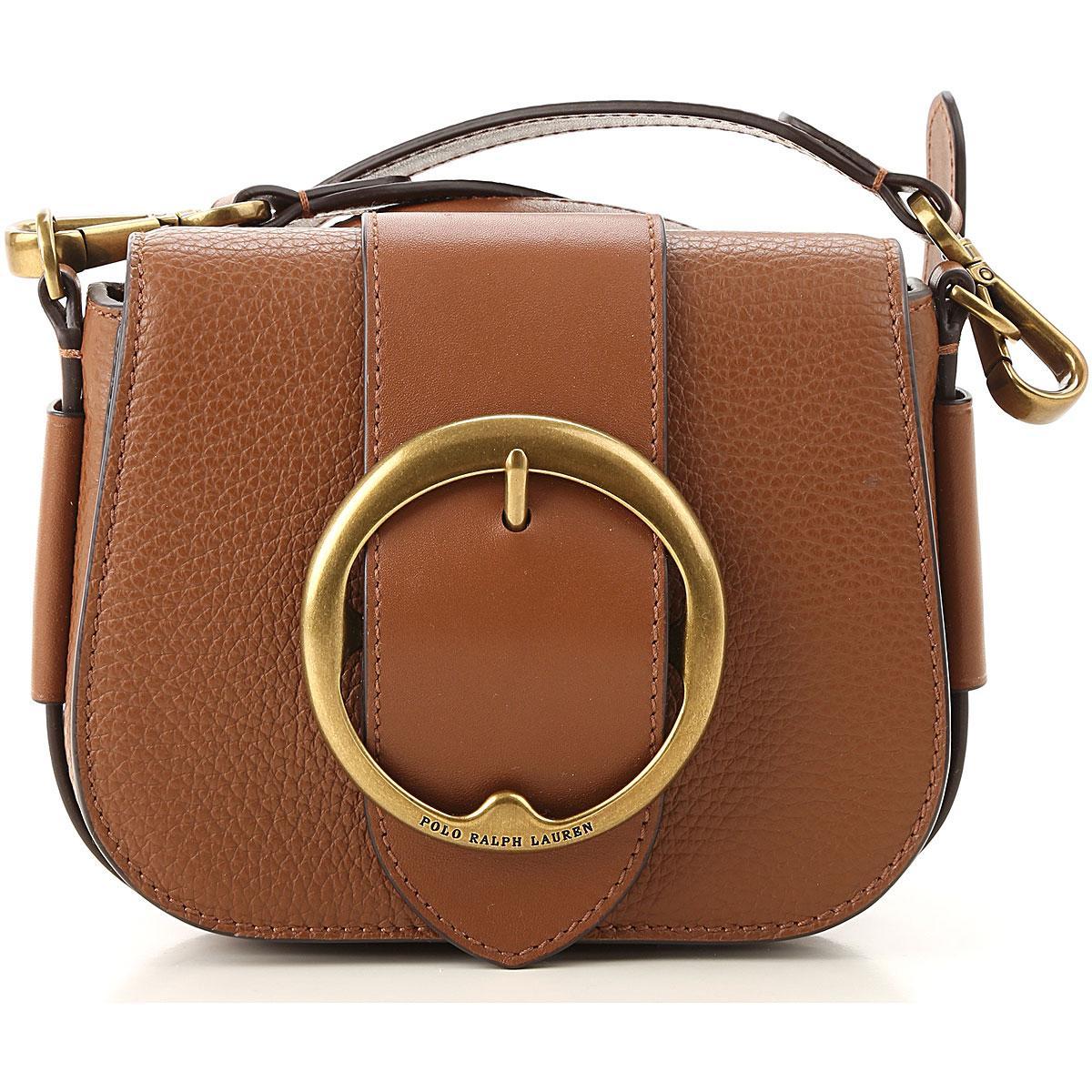 6dc209c53 Bolso Bandolera para Mujer Ralph Lauren de color Marrón - Lyst