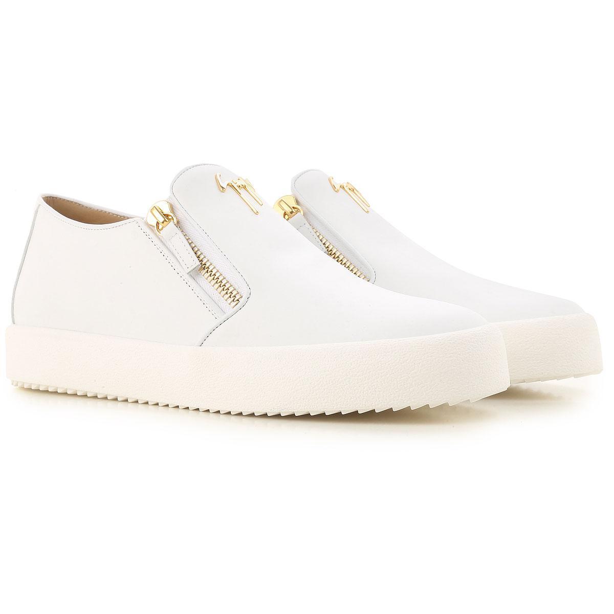 4e2a10a3a6f3b Giuseppe Zanotti Shoes For Men in White for Men - Lyst