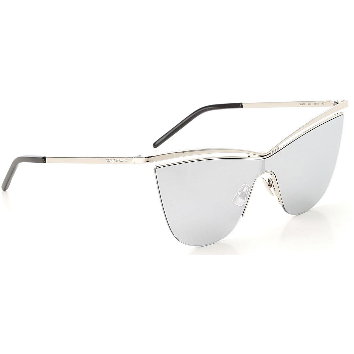 7b59783dd6 Saint Laurent - Metallic Gafas y Lentes de Sol Baratos en Rebajas - Lyst.  Ver en pantalla completa