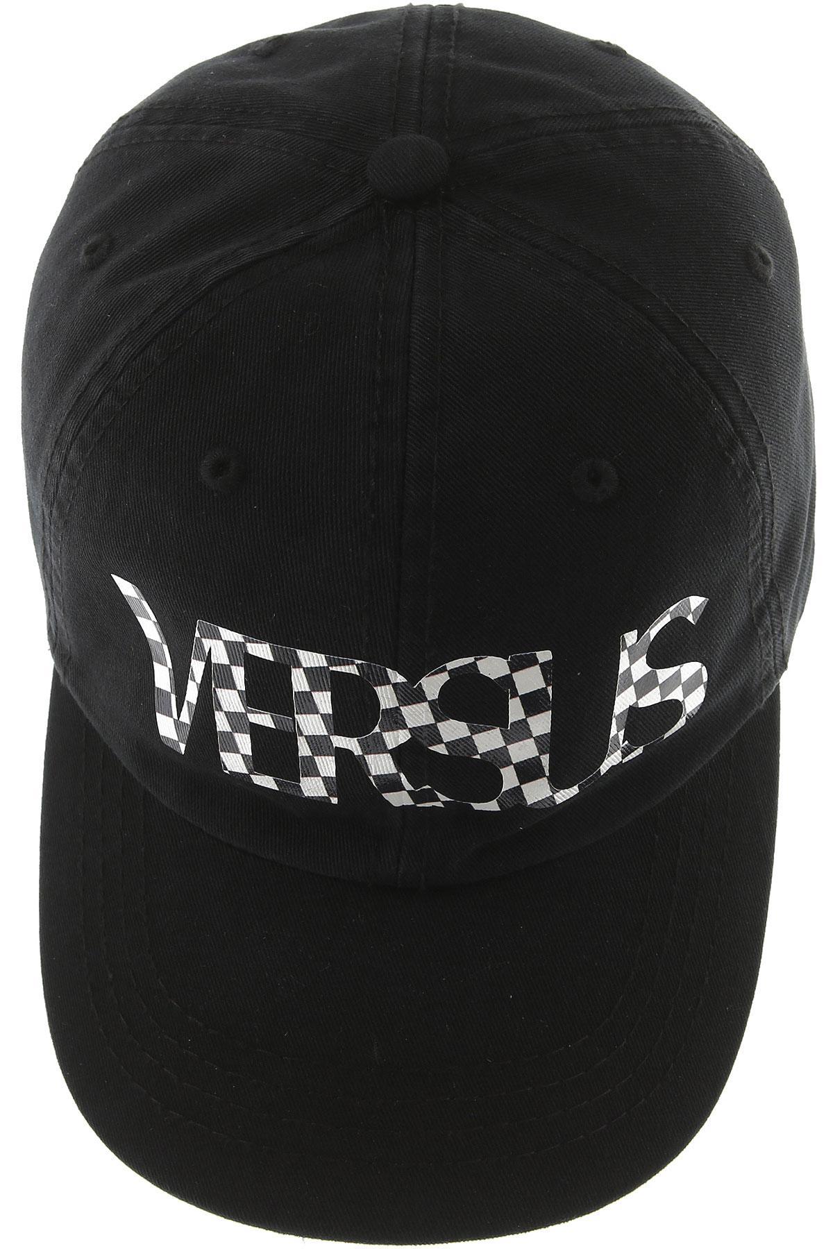 d3fbd0adb30b Versace - Black Chapeau Homme for Men - Lyst. Afficher en plein écran