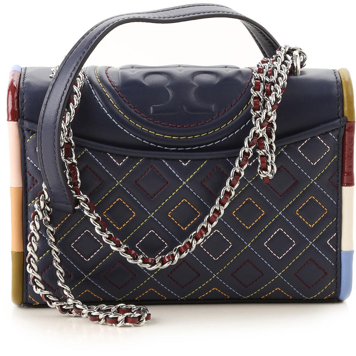 fcea0c7a679 Tory Burch - Blue Shoulder Bag For Women On Sale - Lyst. View fullscreen