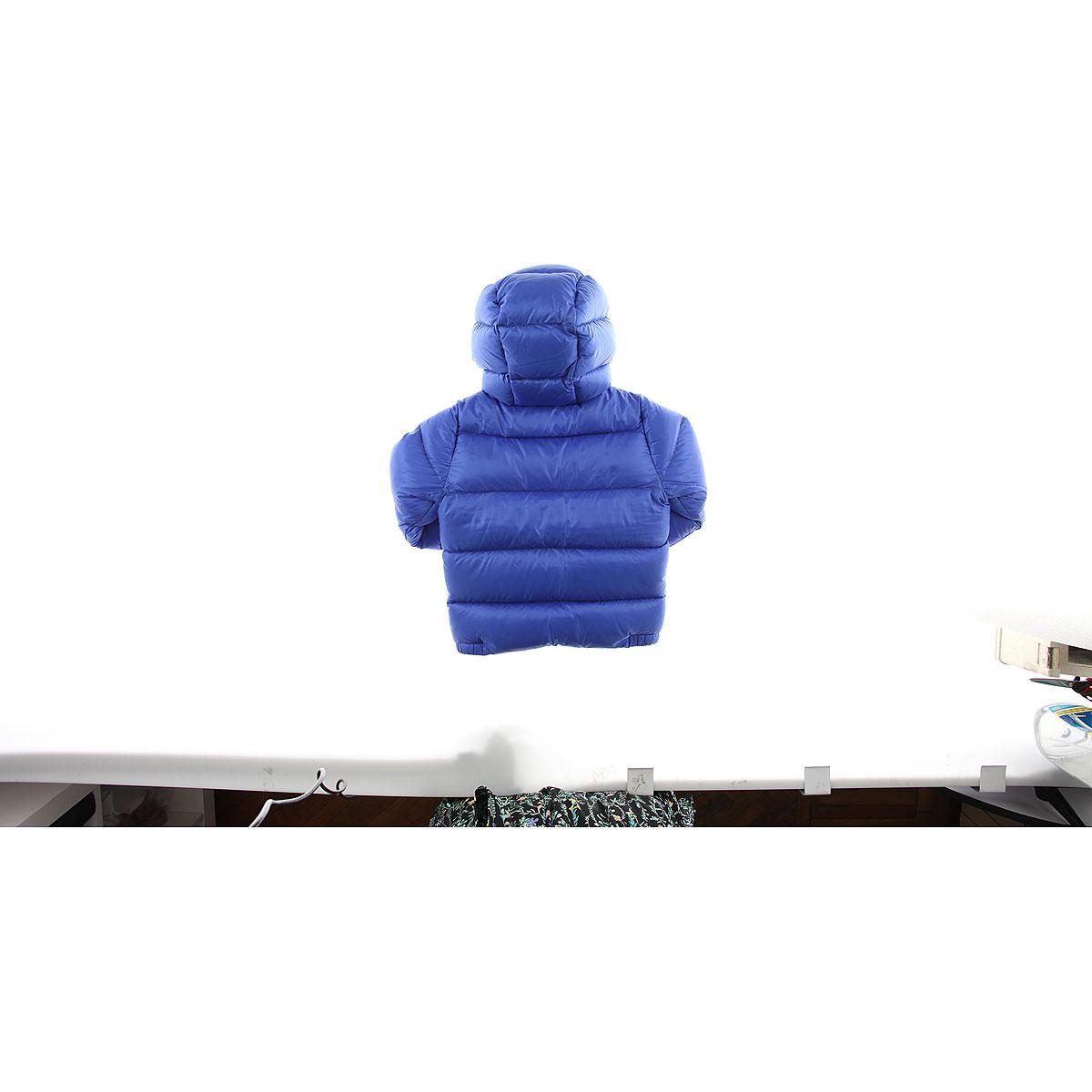 15d5e11f407e Lyst - Moncler Baby Down Jacket For Boys On Sale in Blue for Men