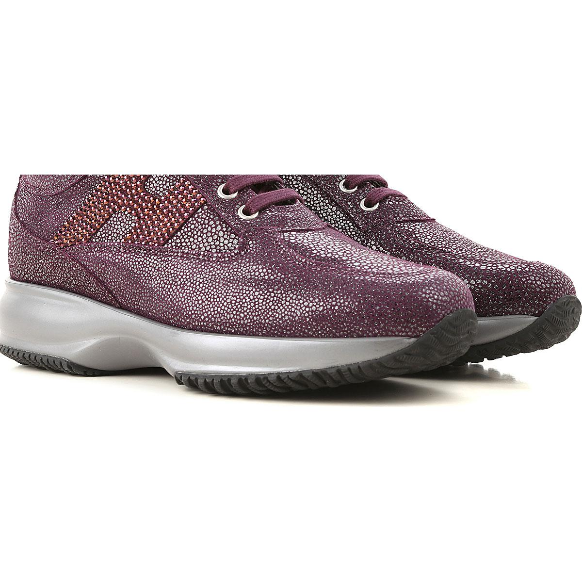 0ee63d55b1d Lyst - Hogan Shoes For Women in Purple