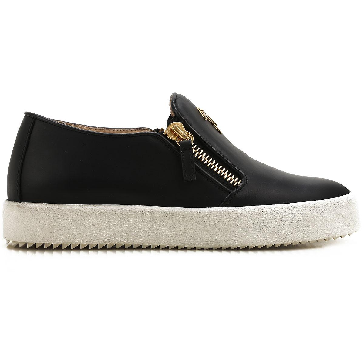 Giuseppe Zanotti - Black Slip On Sneakers For Women On Sale In Outlet -  Lyst. View fullscreen 74f1cdc6ef