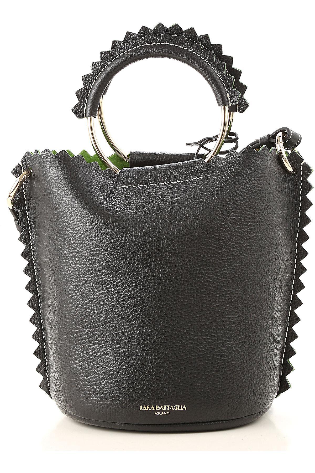 7a8c443c2d9 Lyst - Sara Battaglia Shoulder Bag For Women in Black