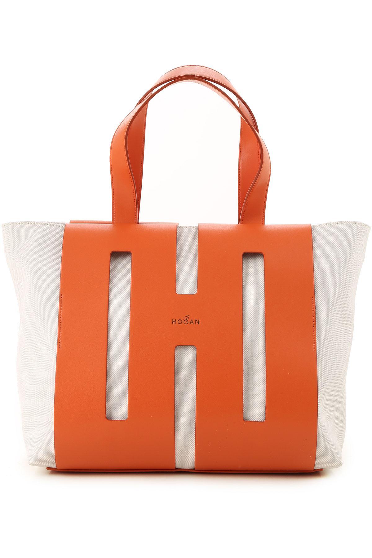 b032452db0e Lyst - Hogan Tote Bag in Orange