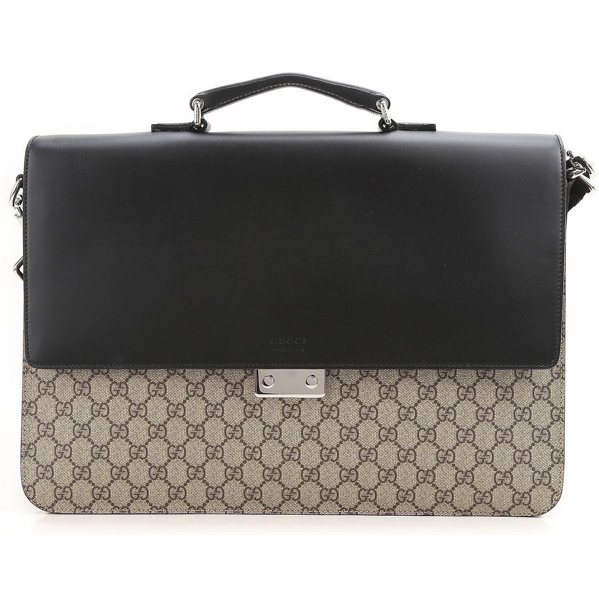 5161a2d0fc1ca7 Gucci - Black Porte document Homme Pas cher en Soldes Outlet for Men -  Lyst. Afficher en plein écran